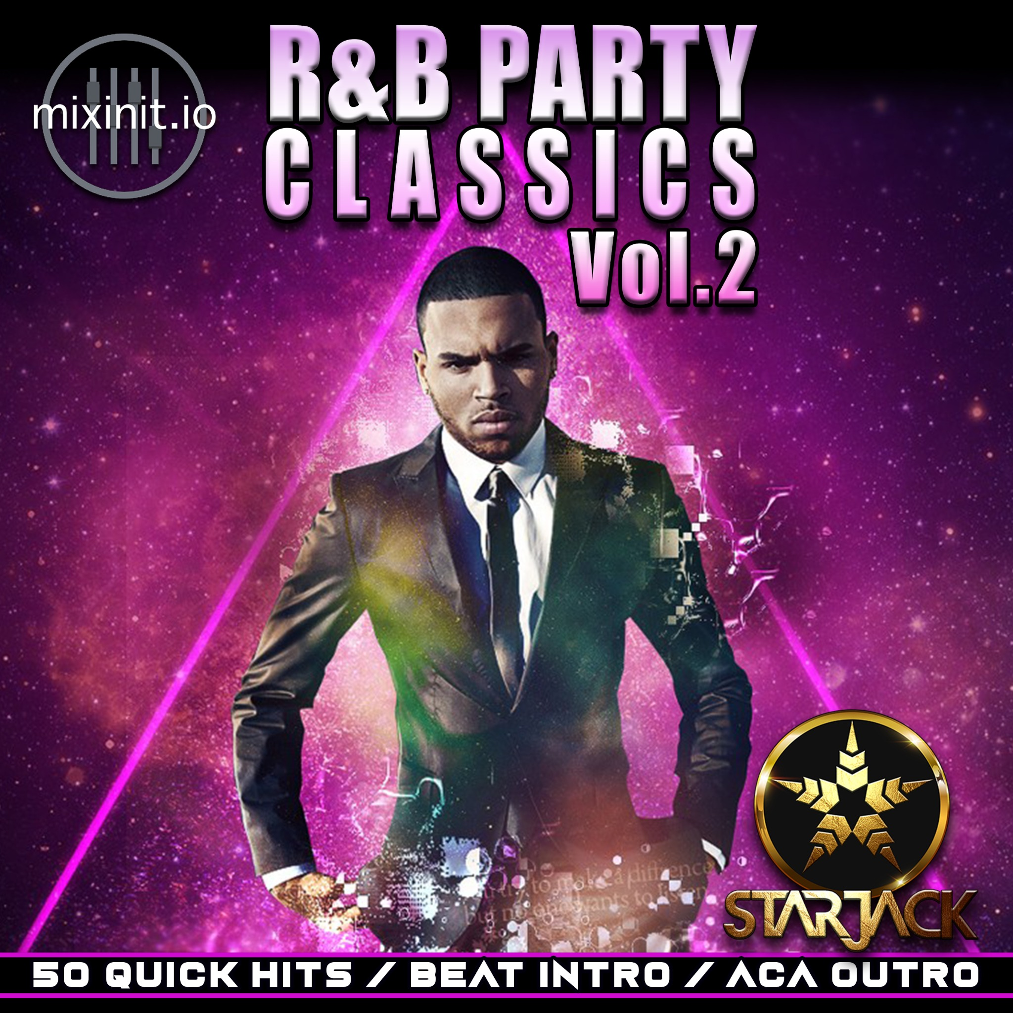 Starjack - R&B Party Classics Vol.2 (Acap Out Quick Hits)