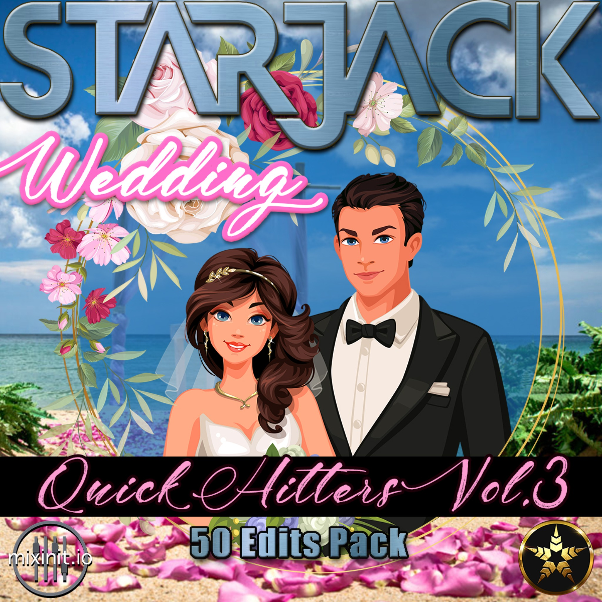 Starjack - Wedding Bangers Vol. 3 (Acap Out / Quick Hits 50 Pack)
