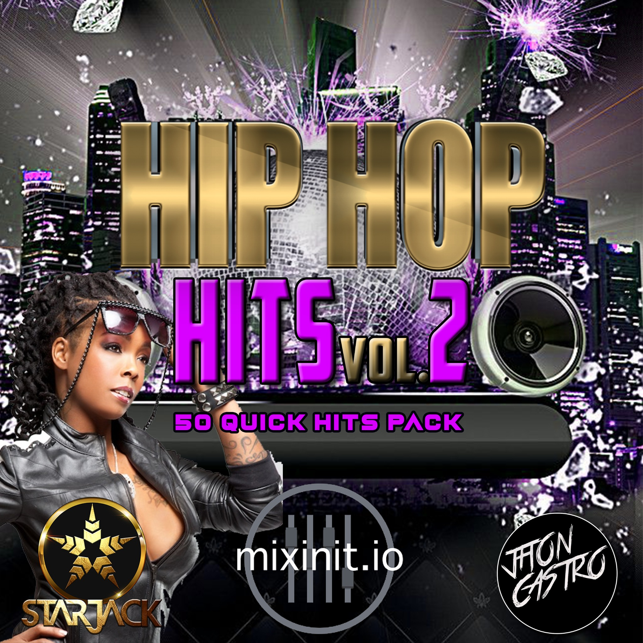 Starjack & Jhon Castro - Hip Hop Hits Vol. 2 (50 Quick Hits)