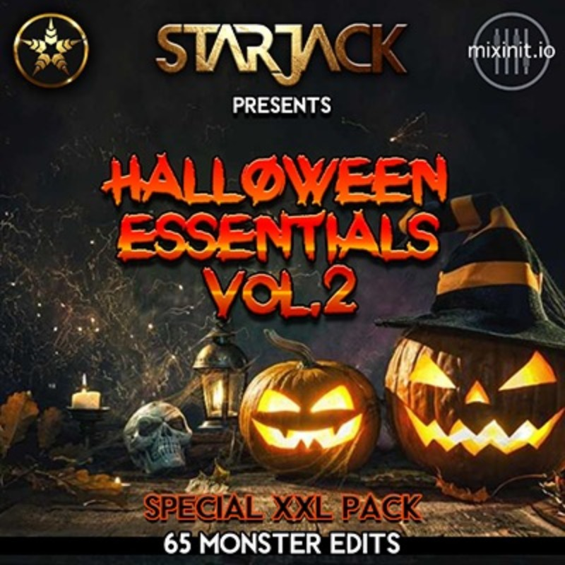 Starjack - Halloween Essentials Vol. 2 (65 Edits!)