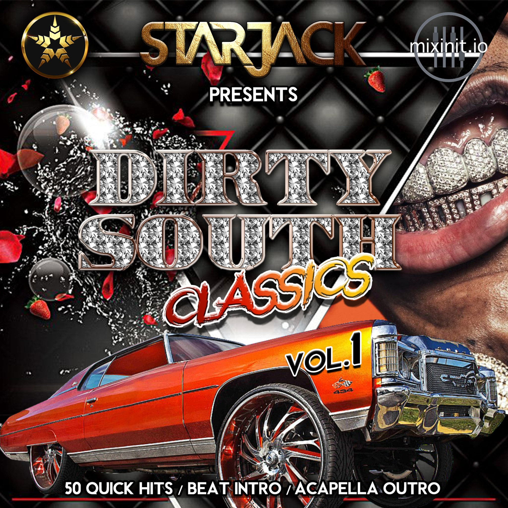 Starjack - Dirty South Classics Vol.1 (Acapella Out Quick Hits)