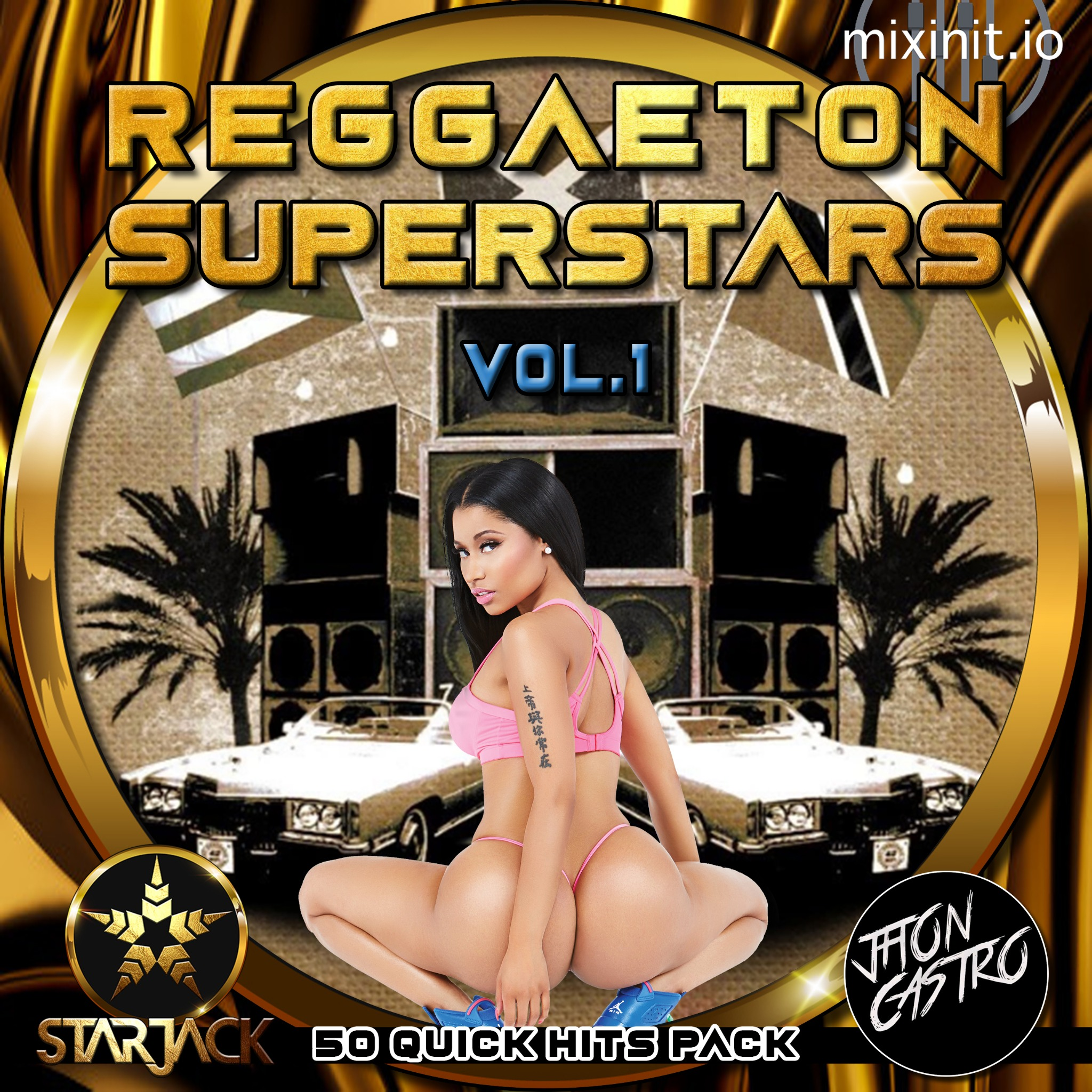 Starjack & Jhon Castro - Reggaeton Superstars Vol. 1 (50 Quick Hits)