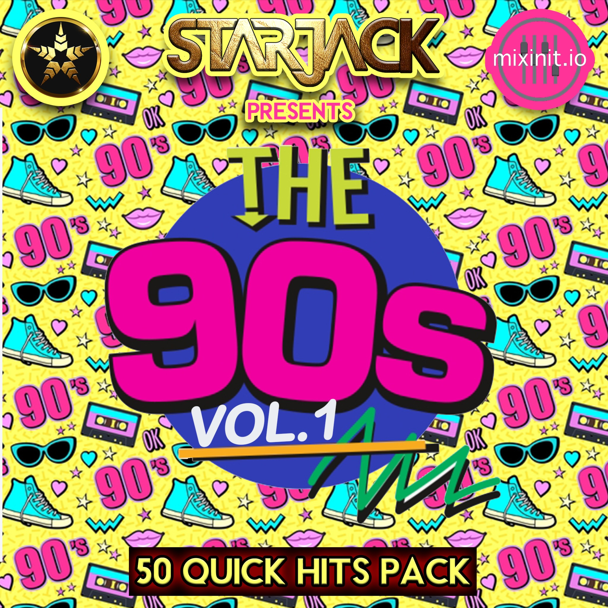 Starjack - The 90's Vol. 1 (Quick Hit / Acap Out) 50 Pack