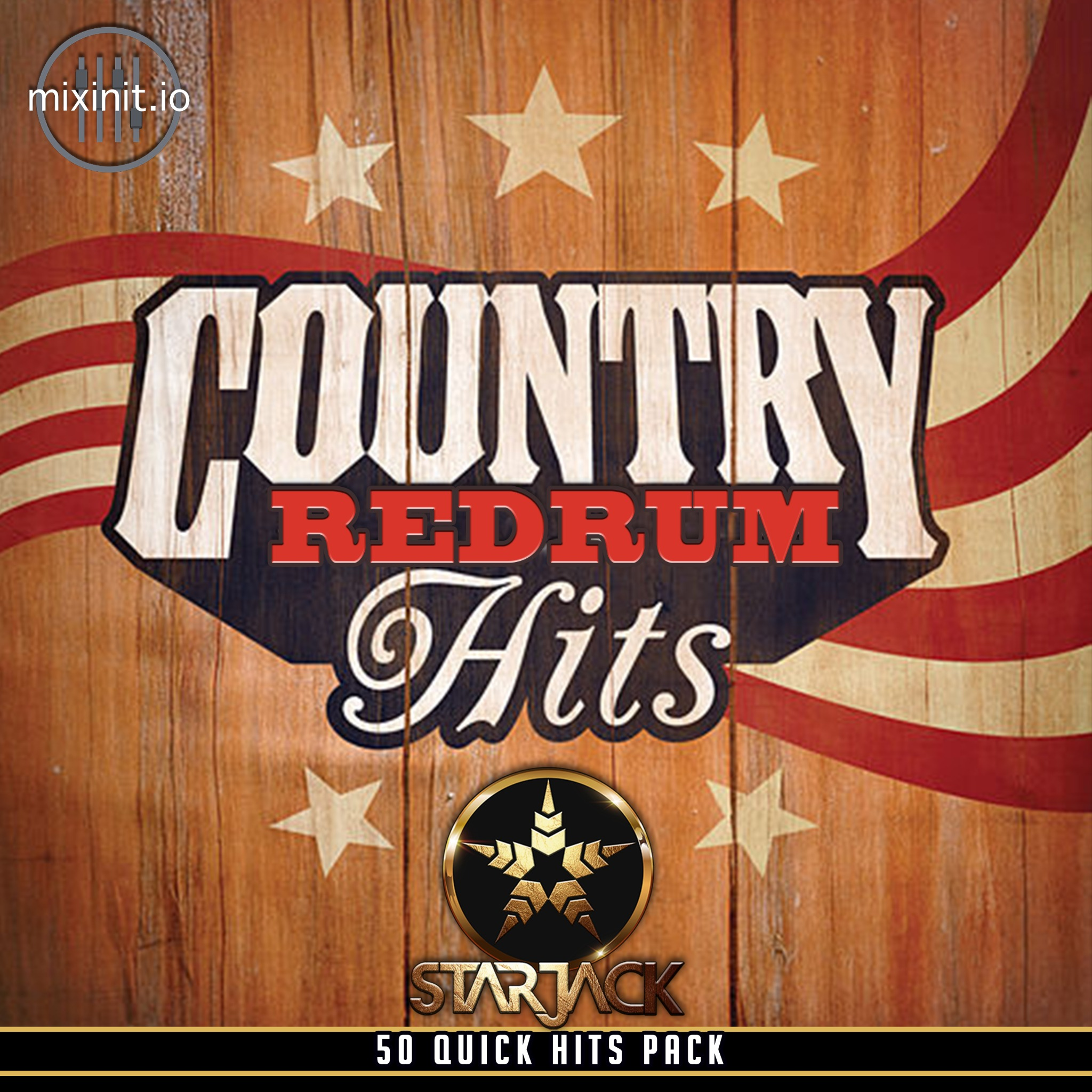 Starjack - Country Redrum Hits Vol. 1 (50 Quick Hits)