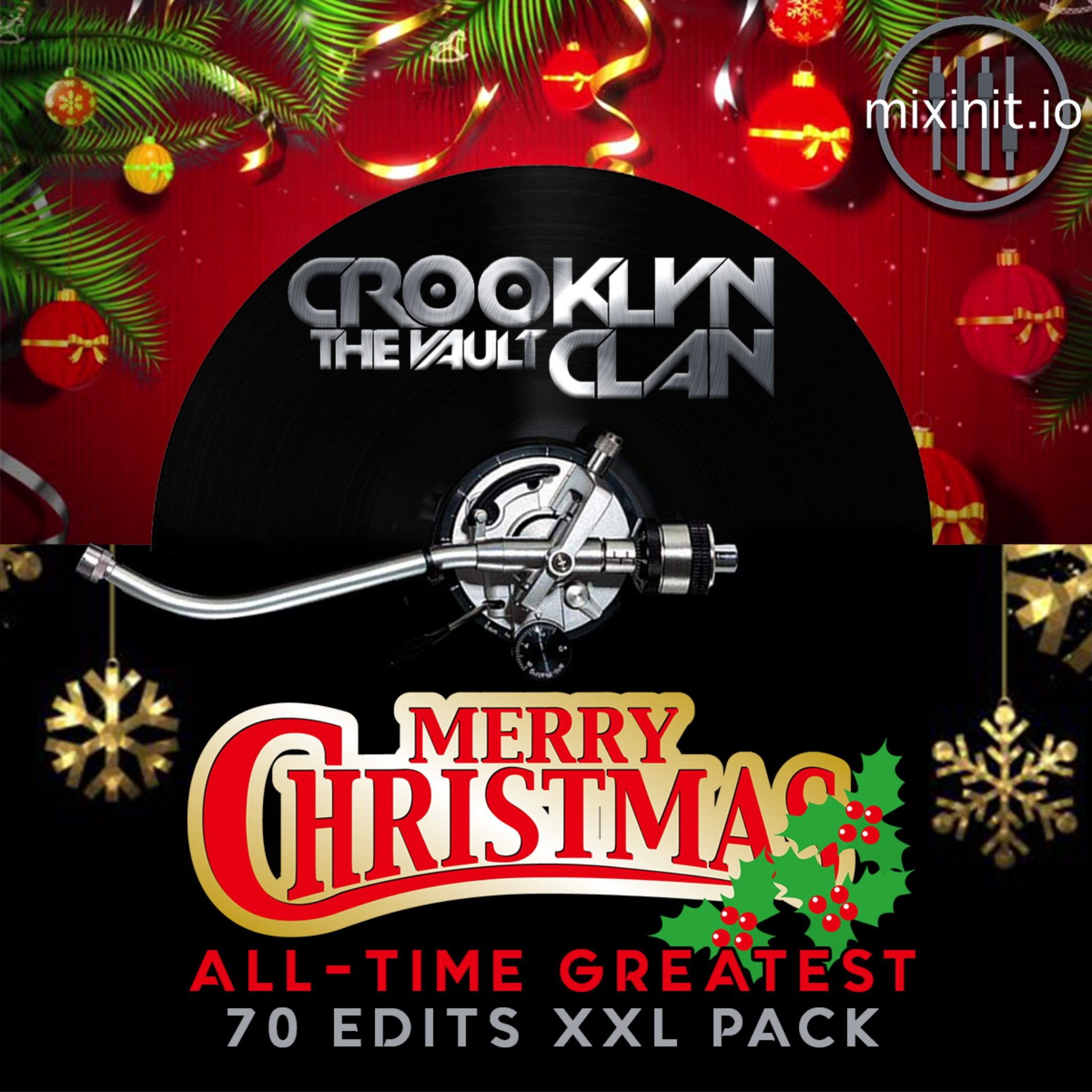 Best Of The Crooklyn Clan Vault Christmas Mega Pack (70 Edits)