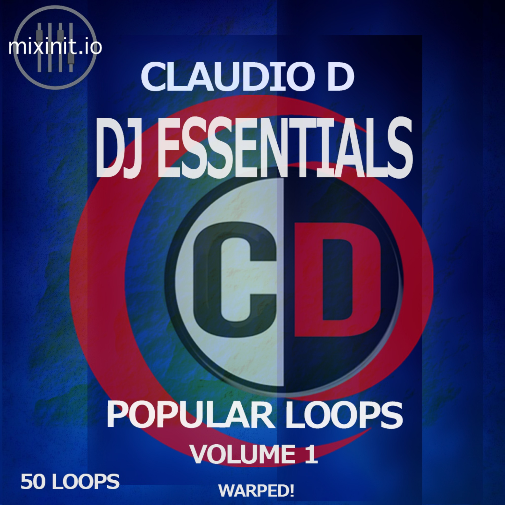 Claudio D - Popular Loops Vol. 1 (50 Instrumental Warped Loops)