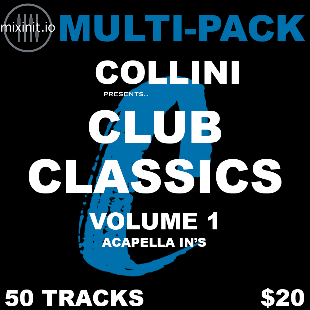Collini - Club Classics Vol. 1 (Acap In 50 Pack)