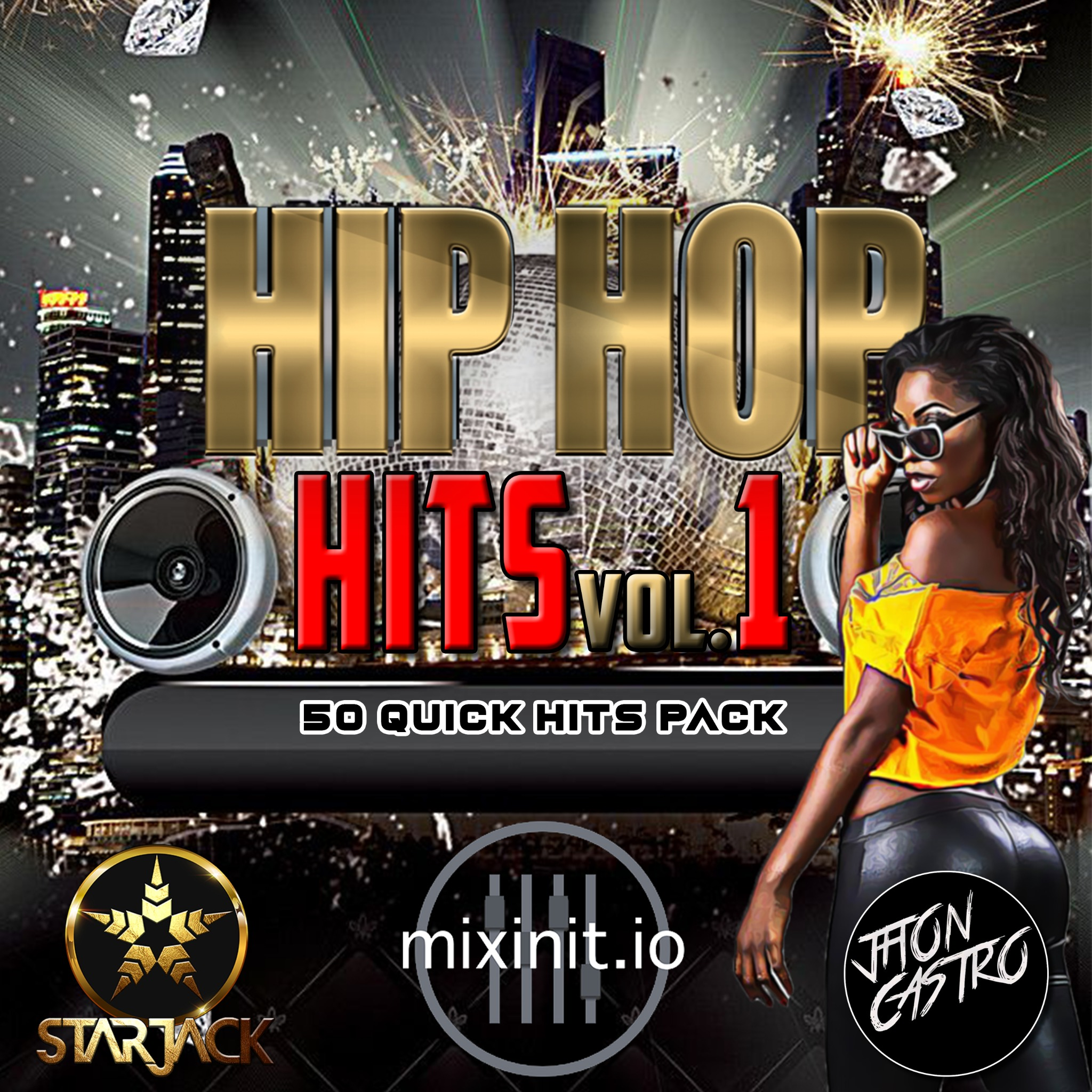 Starjack & Jhon Castro - Hip Hop Hits Vol. 1 (50 Quick Hits)