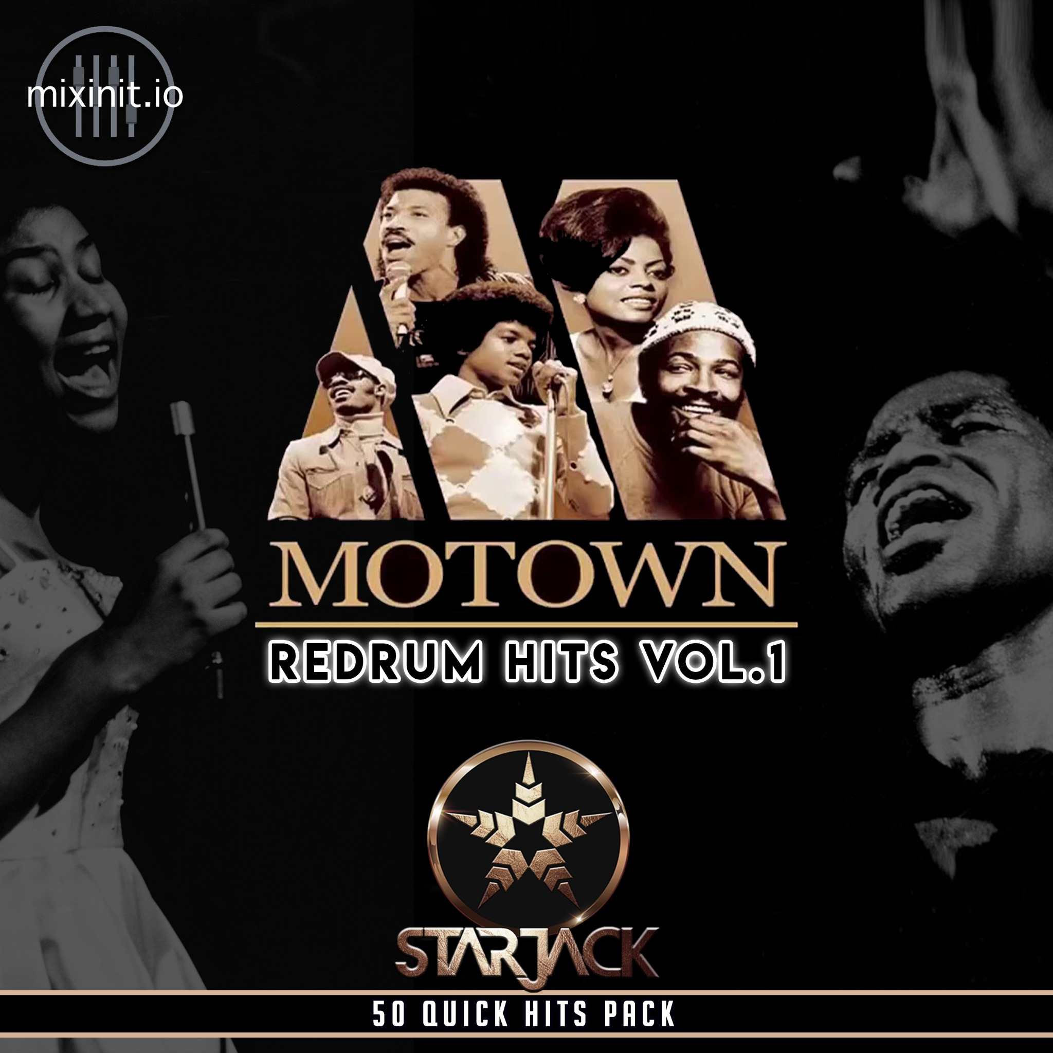 Starjack - Motown Redrums  The Hits Vol. 1 (50 Redrums Quick Hits)