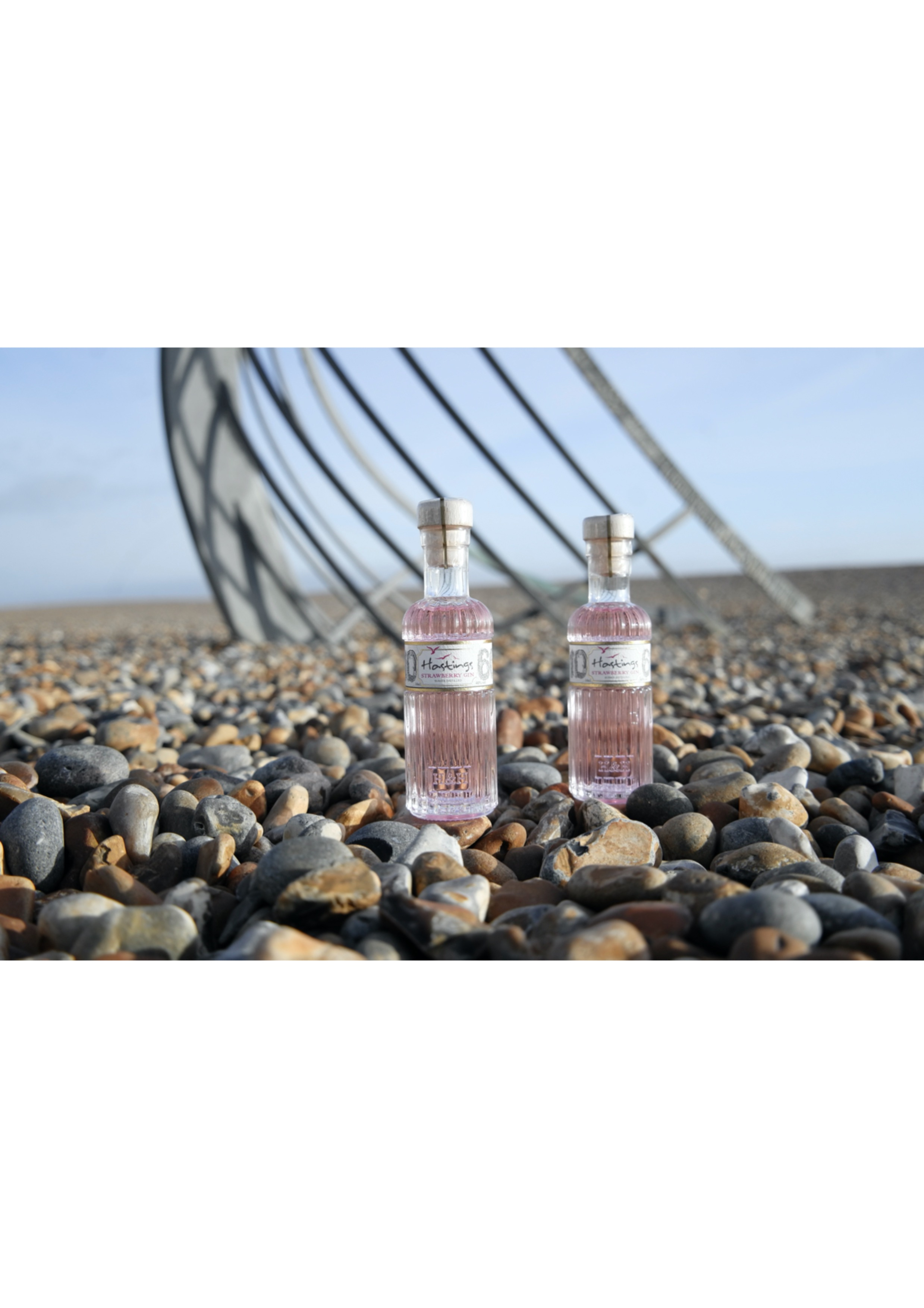 """Hastings Strawberry Gin """"Gift Size"""" 1x10cl@40% Alc"""