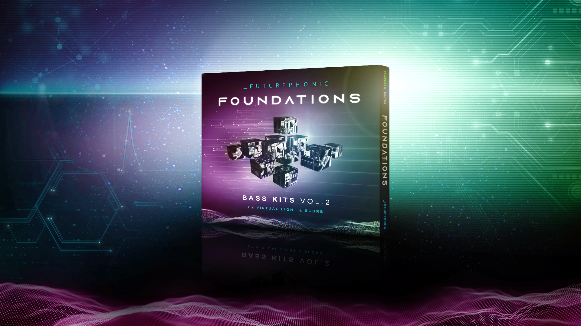Foundations - Bass Kits Vol. 2 by Virtual Light and Scorb