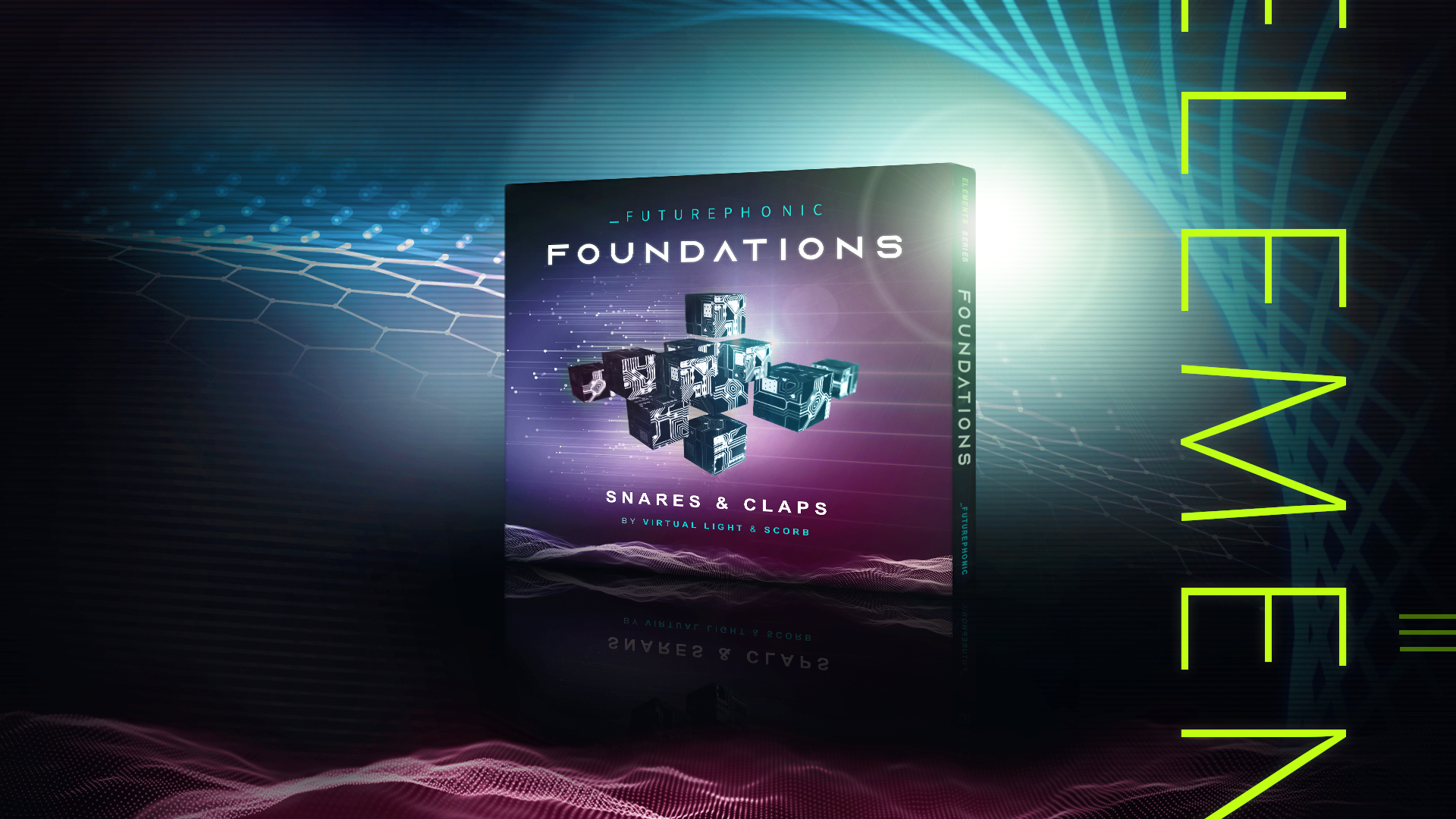 Foundations - Snares & Claps by Virtual Light and Scorb