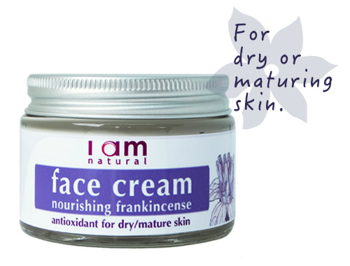 Organic Frankincense Nourishing Face Cream