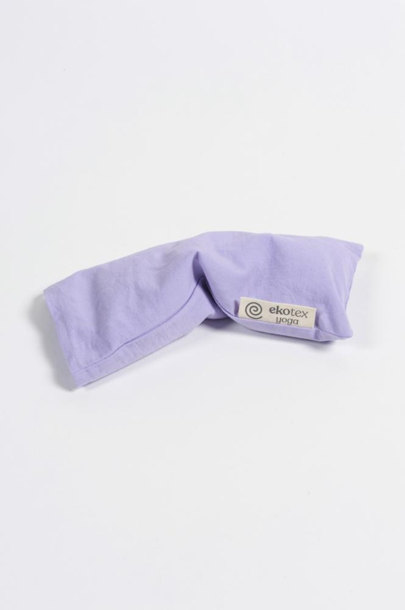 Organic Cotton Eye Pillow ( Flaxseed & Dry Lavender) Lavender