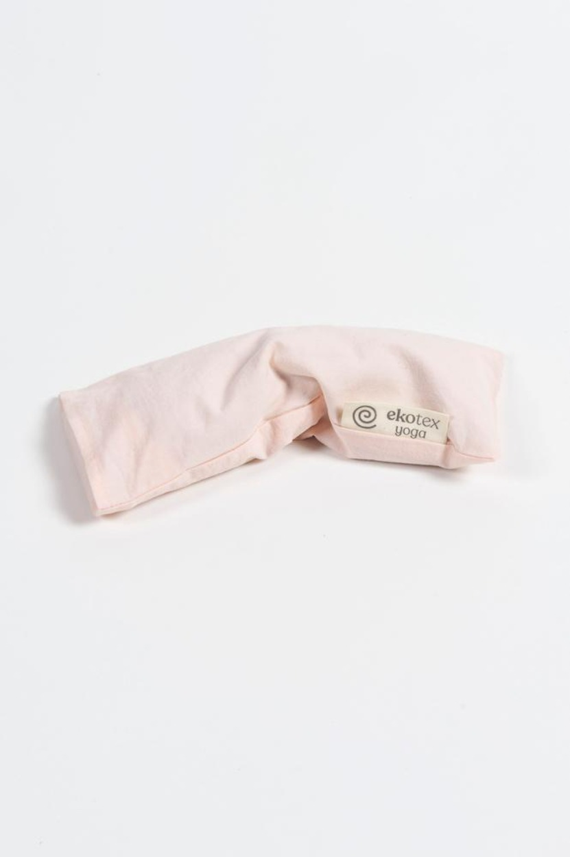 Organic Cotton Eye Pillow ( Flaxseed & Dry Lavender) Rosewater