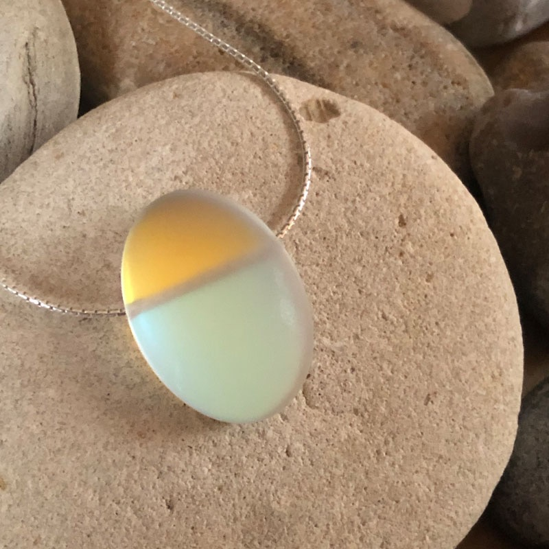 "PAX328, Glow - Oval 18"" Necklace"