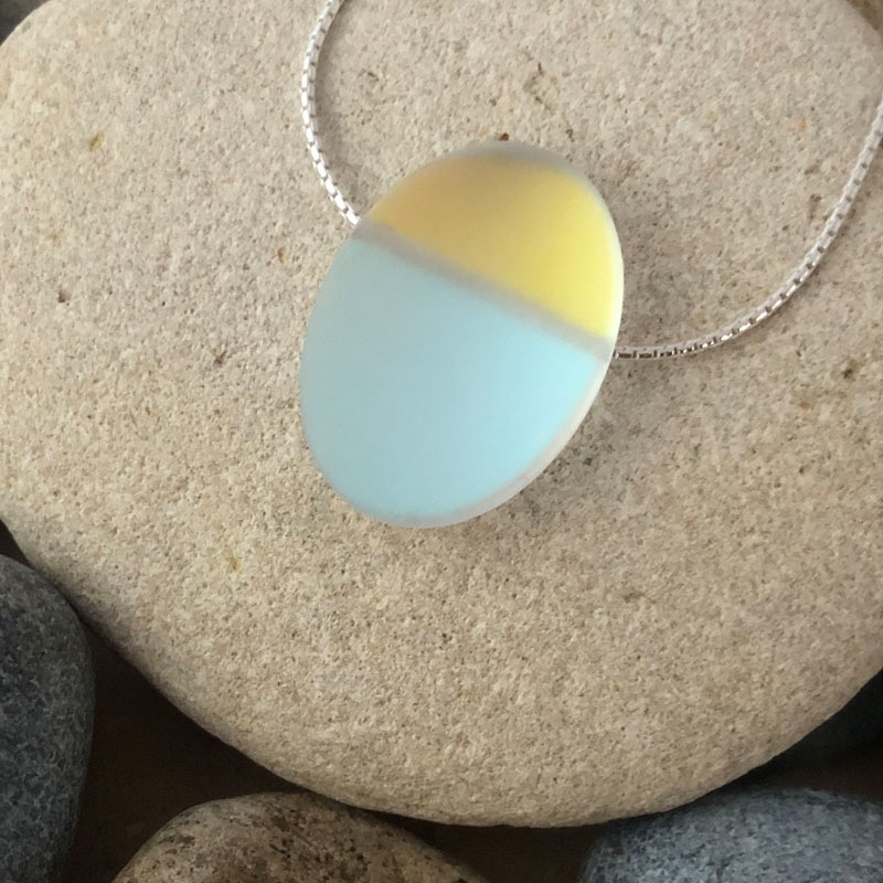 """PAX328, Glow - Oval 18"""" Necklace"""