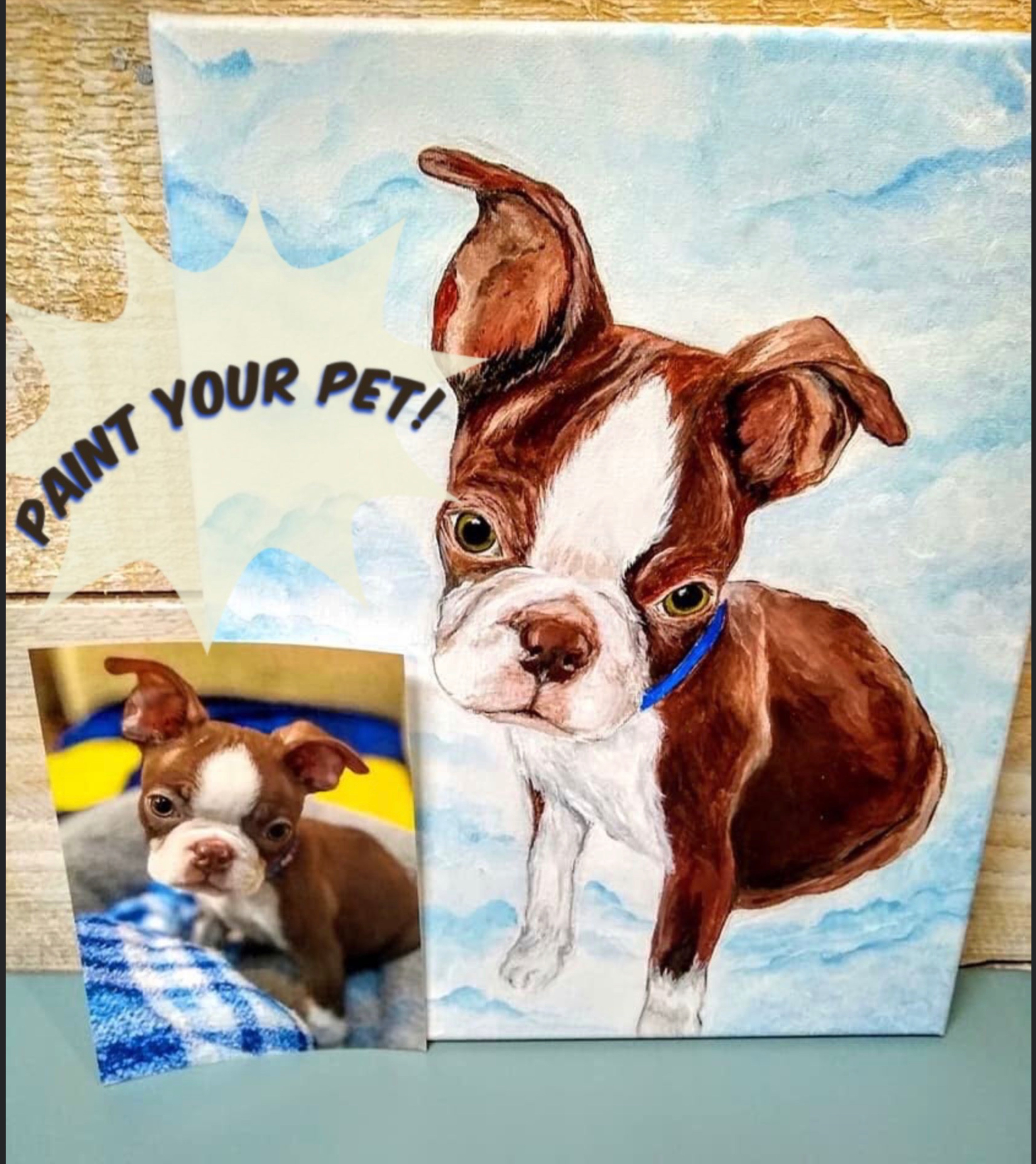 Paint Your Pet Night in Your Home or Office!