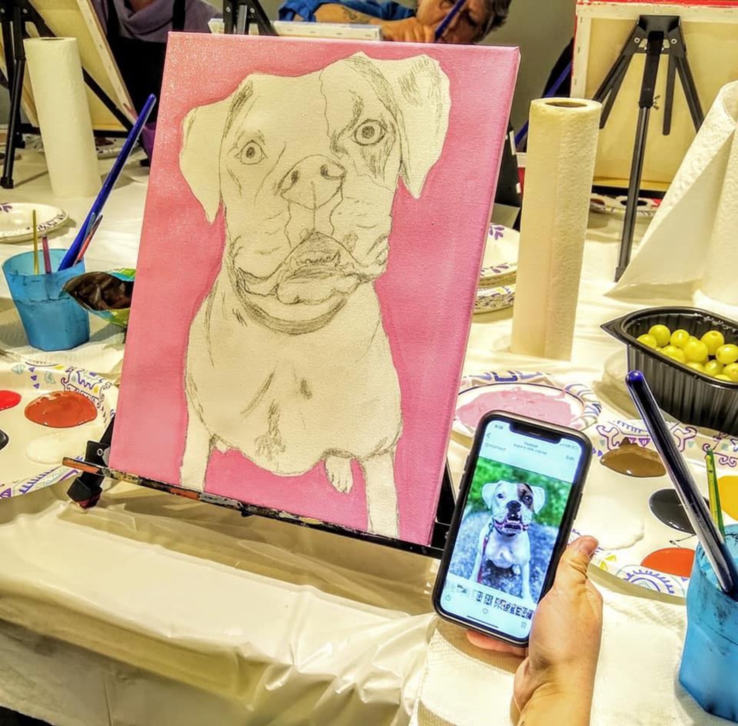 Paint Your Pet!  VFW Post 1088, Kingston, NH - 3/27