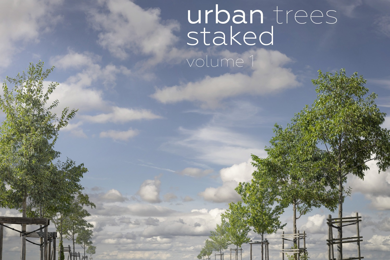 URBAN TREES STAKED Volume 1