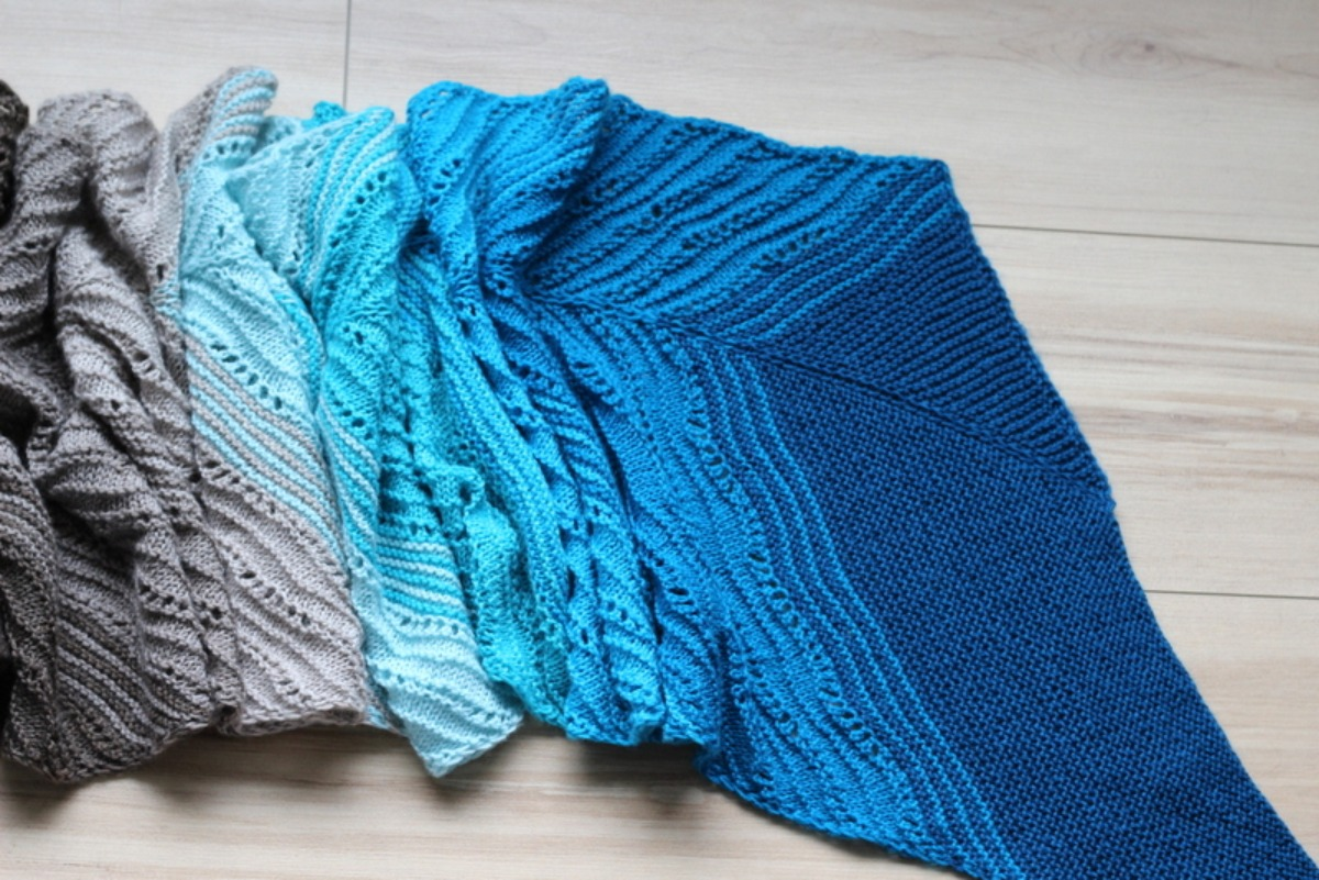 Sands of Coolness Shawl