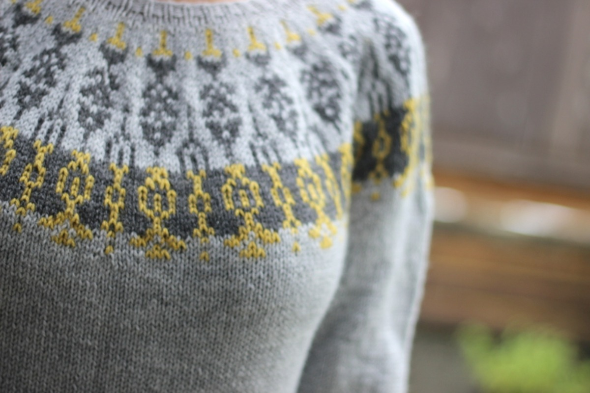 Dancing Flowers Sweater