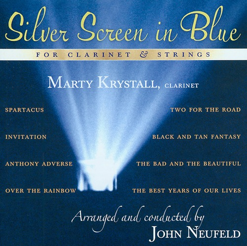 Marty Krystall - Silver Screen in Blue for Clarinet and Strings (K2B2 3869) 44.1/16-bit.wav