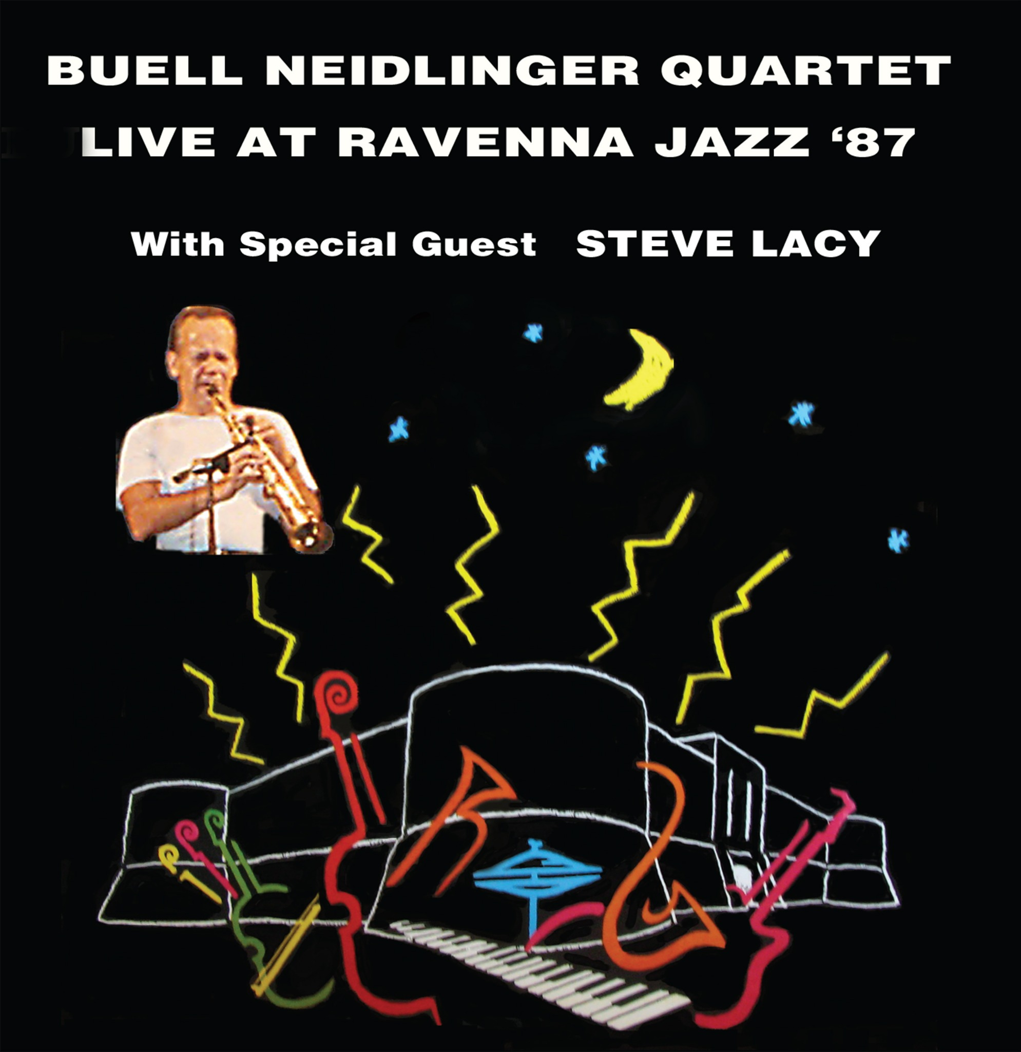 Buell Neidlinger Quartet - Live at Ravenna Jazz '87 plus Steve Lacy (K2B2 3969) CD