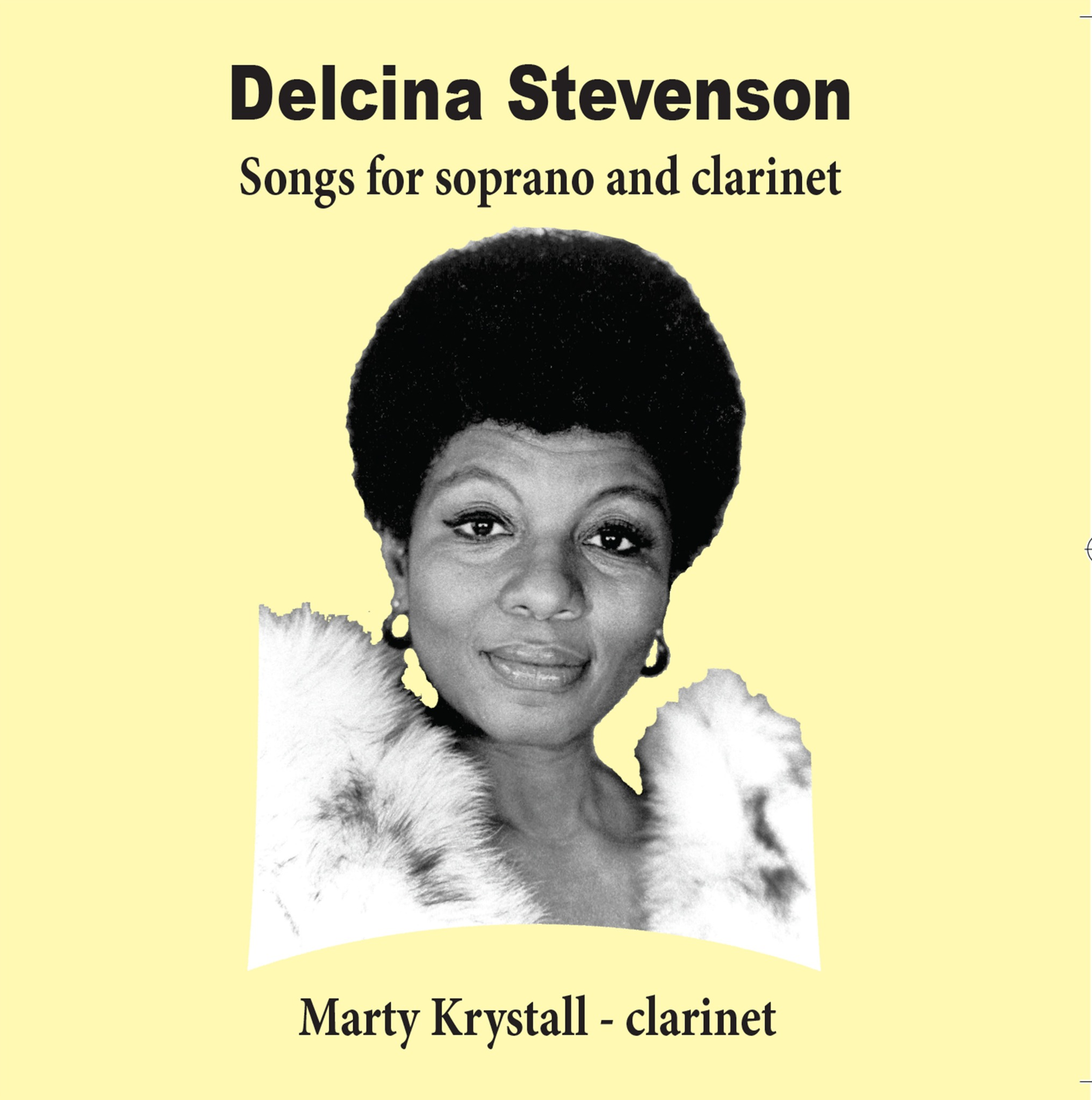 Songs For Soprano and Clarinet - Delcina Stevenson / Marty Krystall (44.1-16 FLAC)