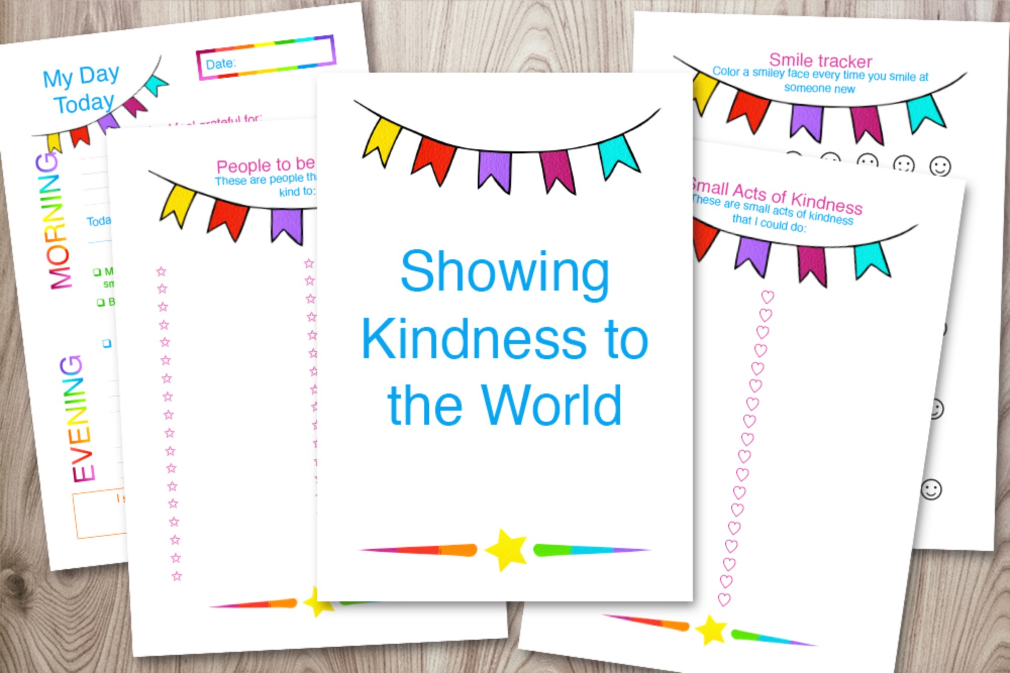 Acts of Kindness Journal & Planner