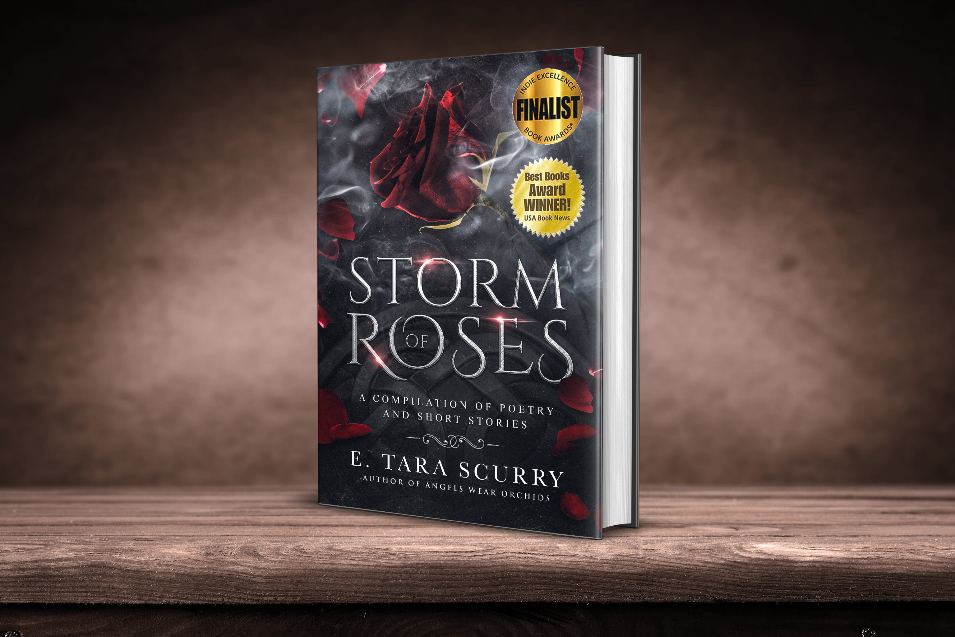Storm of Roses 2020 Signed Paperback w/Large Metallic Bookmark