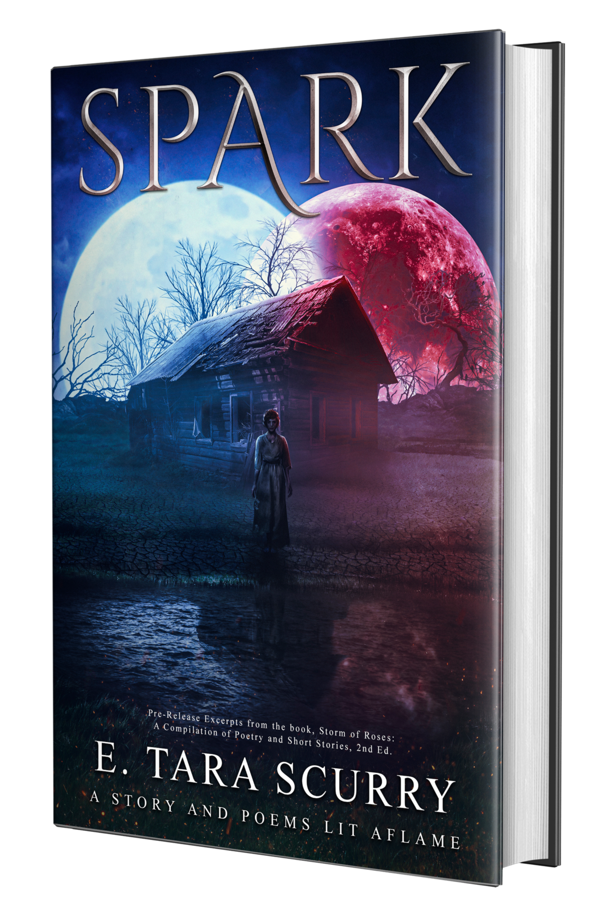 SPARK: A Story and Poems Lit Aflame  (Signed Paperback) PRE-ORDER