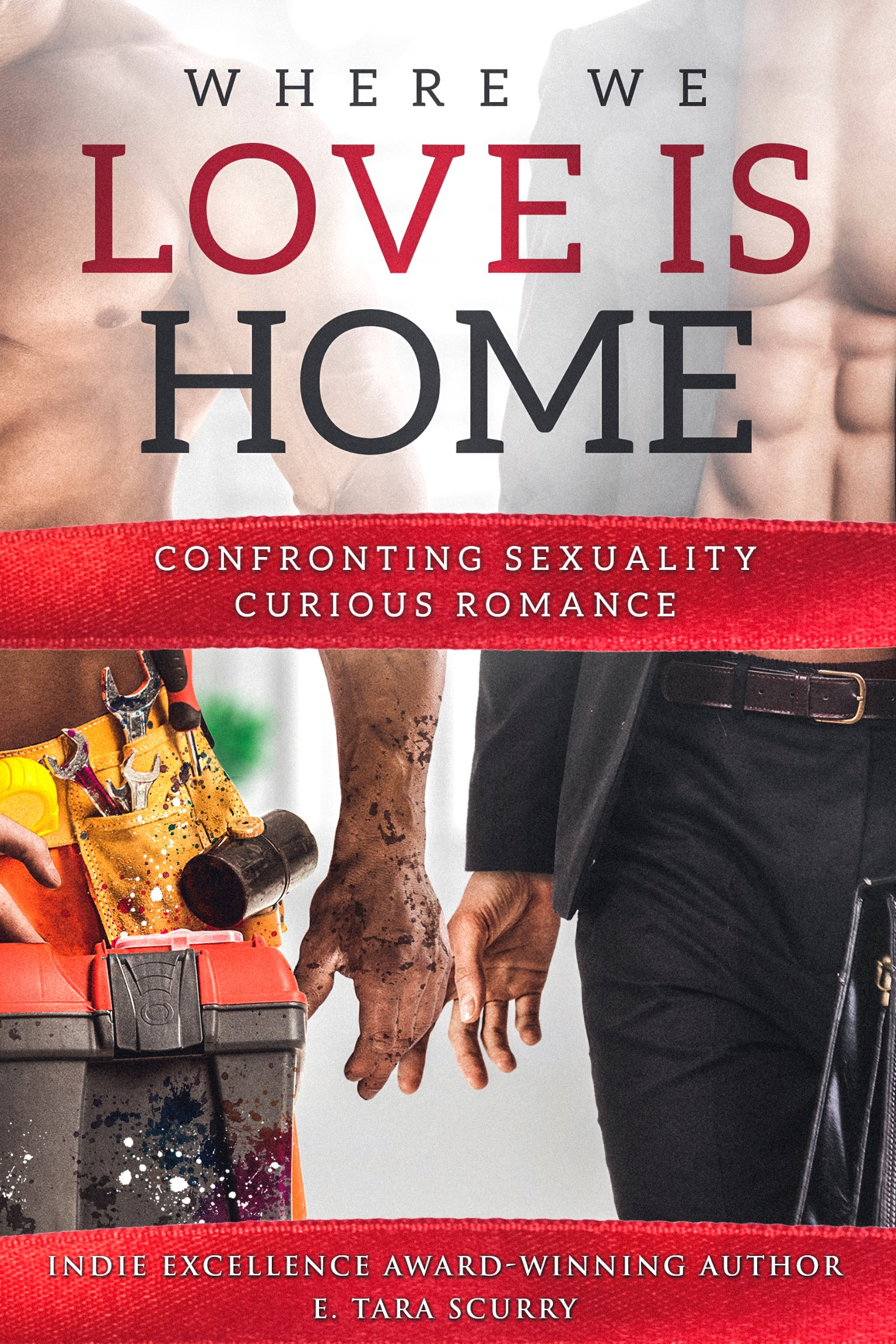 Where We Love is Home Signed Paperback w/ Large Luxury Metallic Bookmark