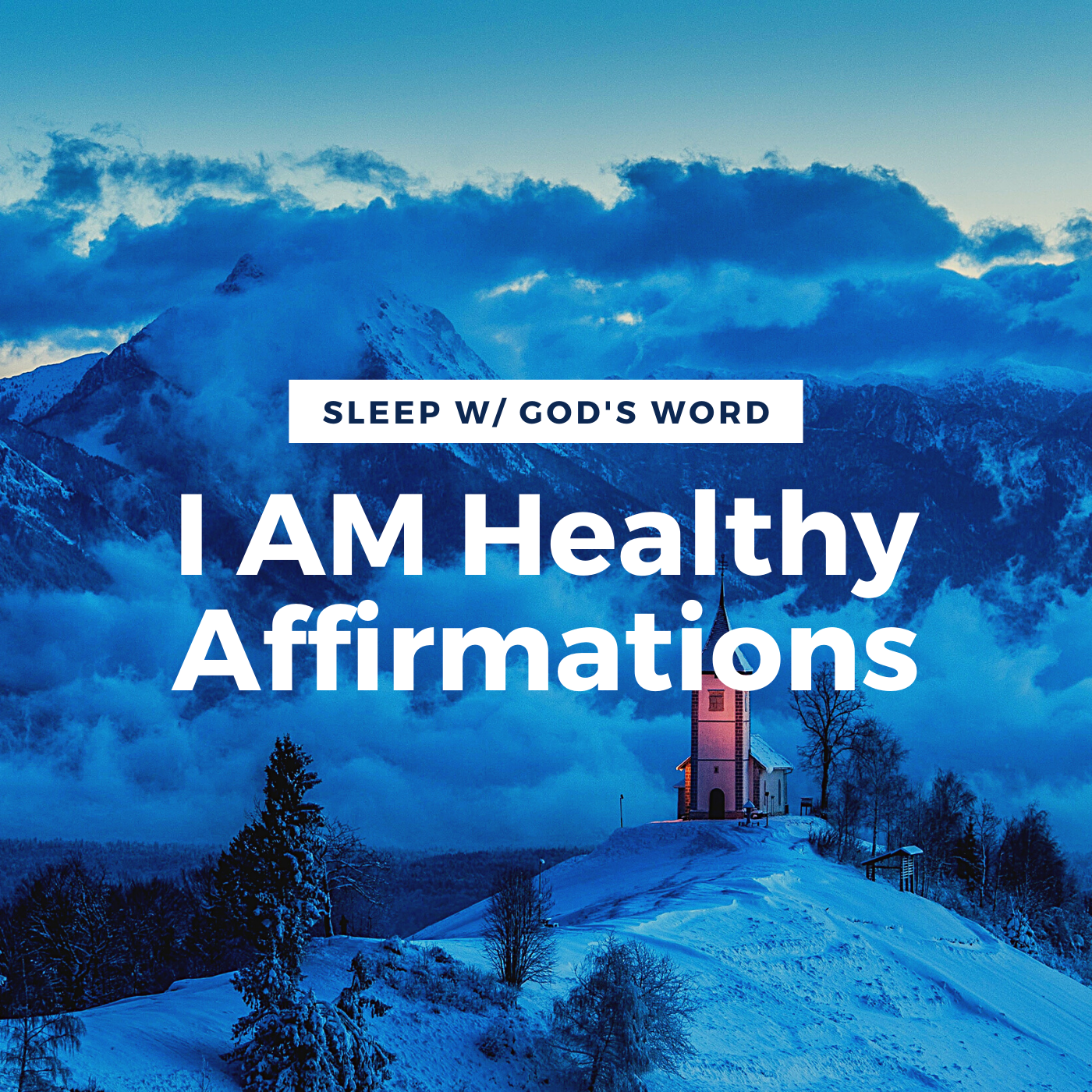 I AM Healthy Affirmations - Renew Your Mind While You Sleep