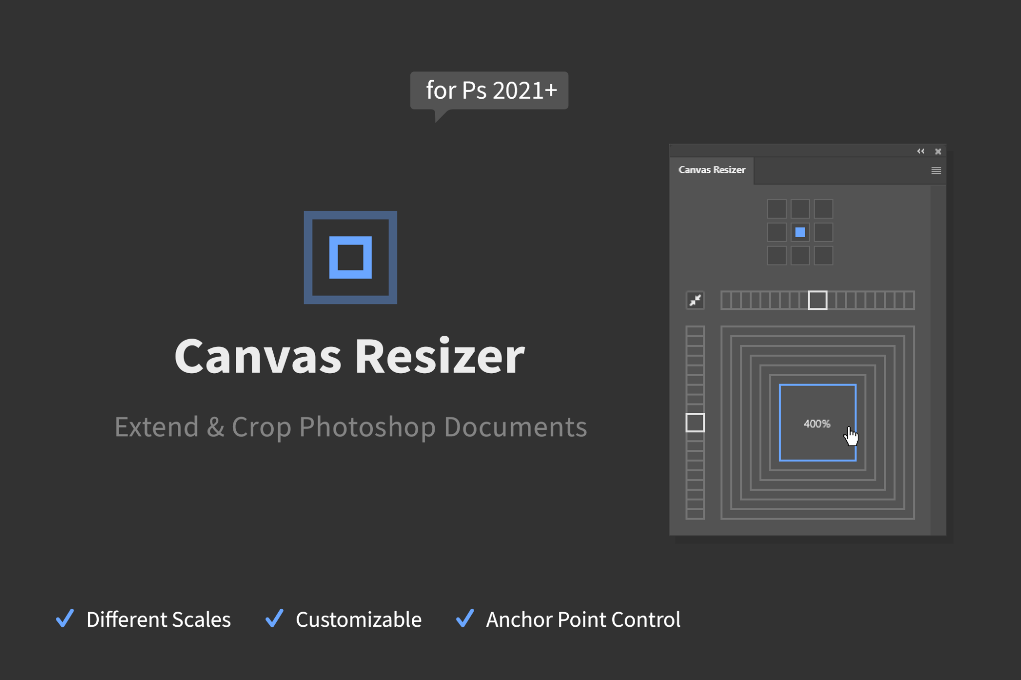 Canvas Resizer - Extend & Crop Canvases Easily