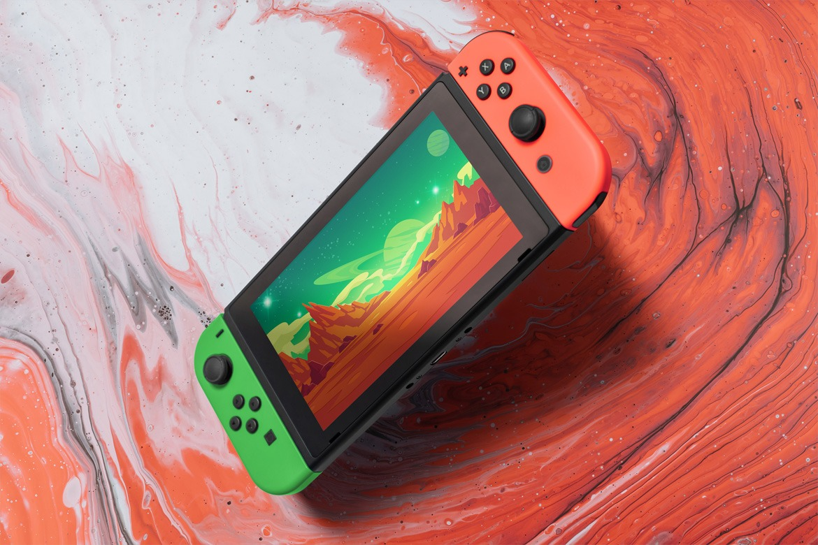 8 Switch Console Mockups
