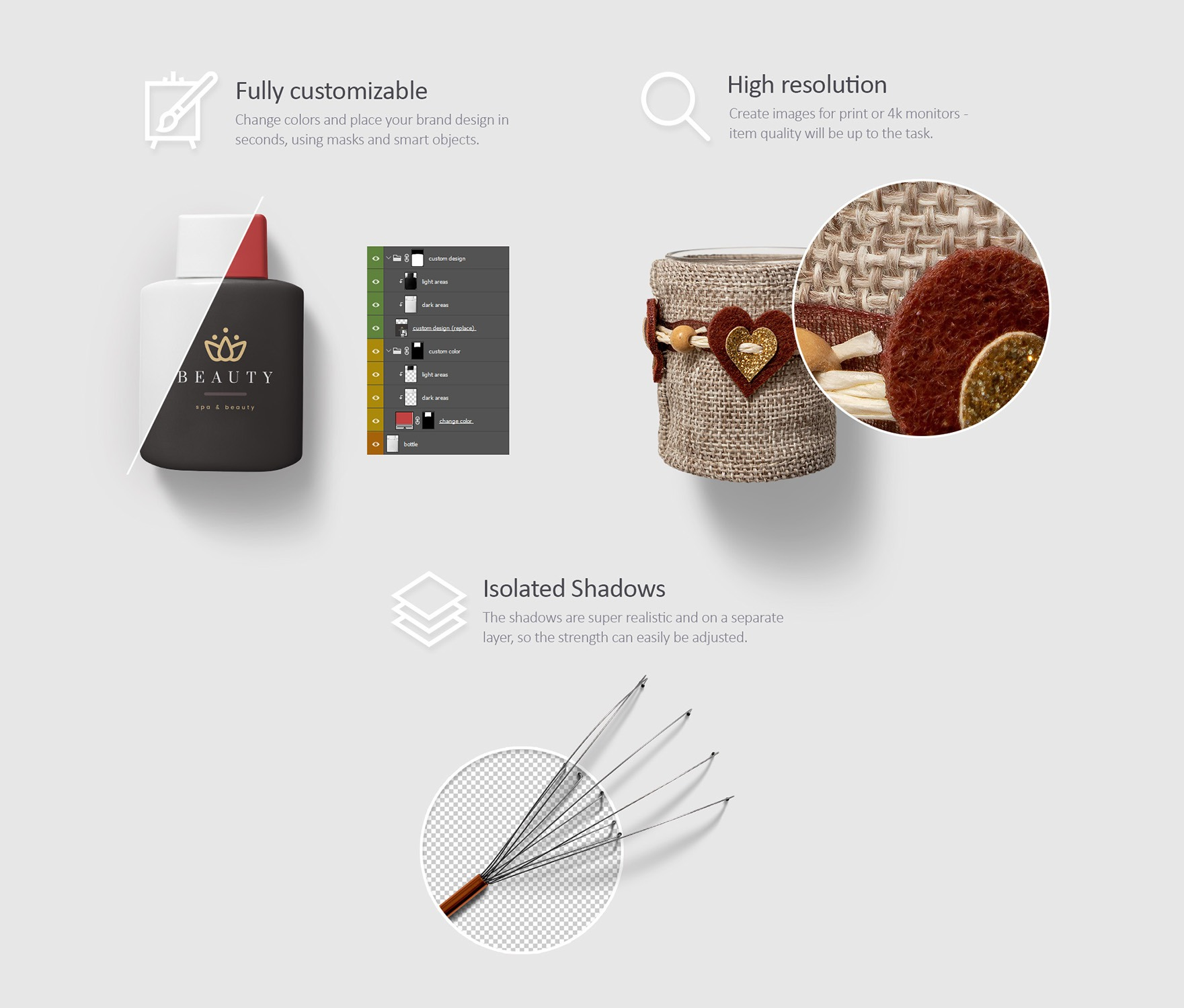 Beauty & Cosmetics Mockup Scenes