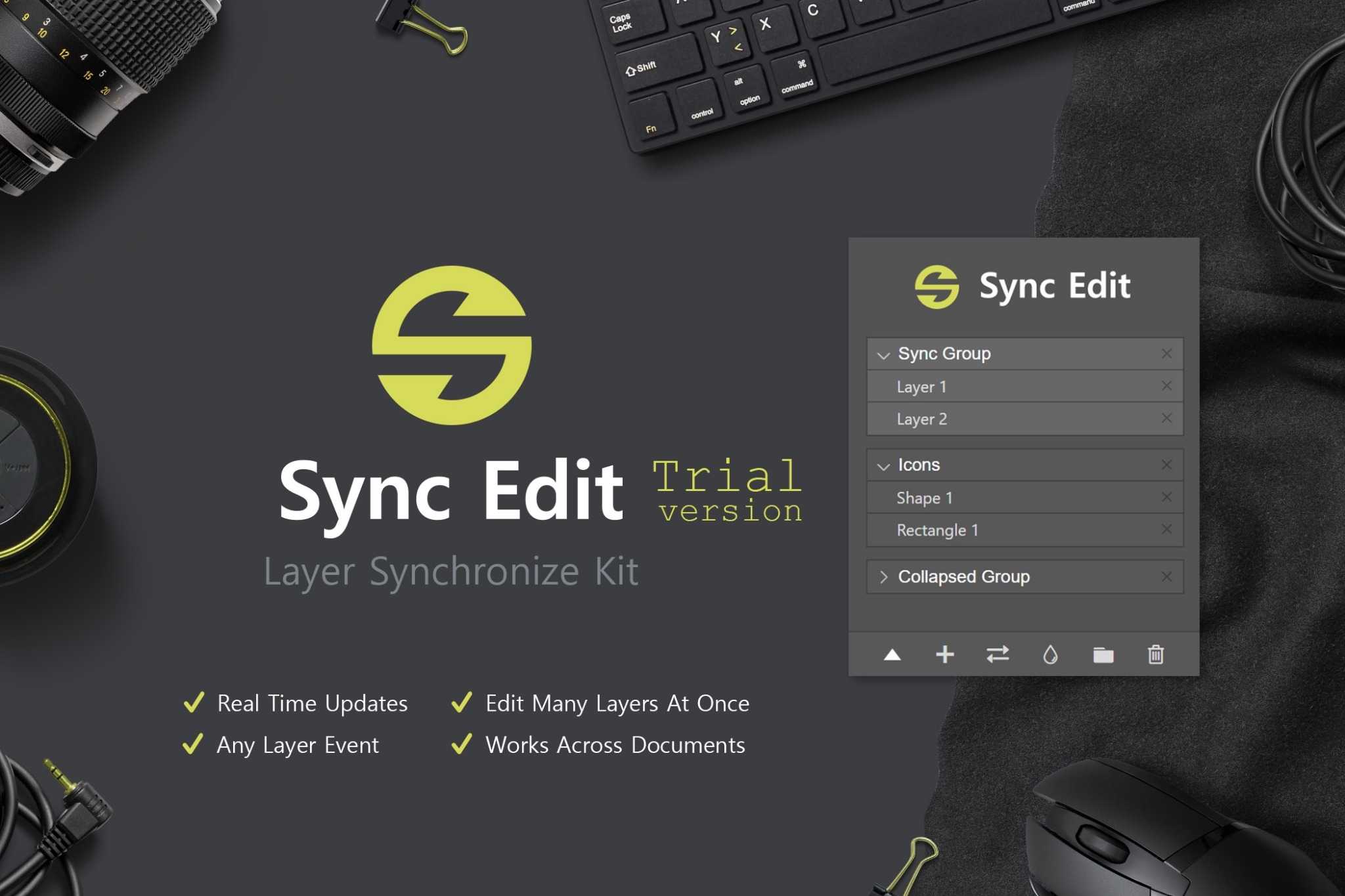Sync Edit - Layer Synchronize Kit (Trial Version)