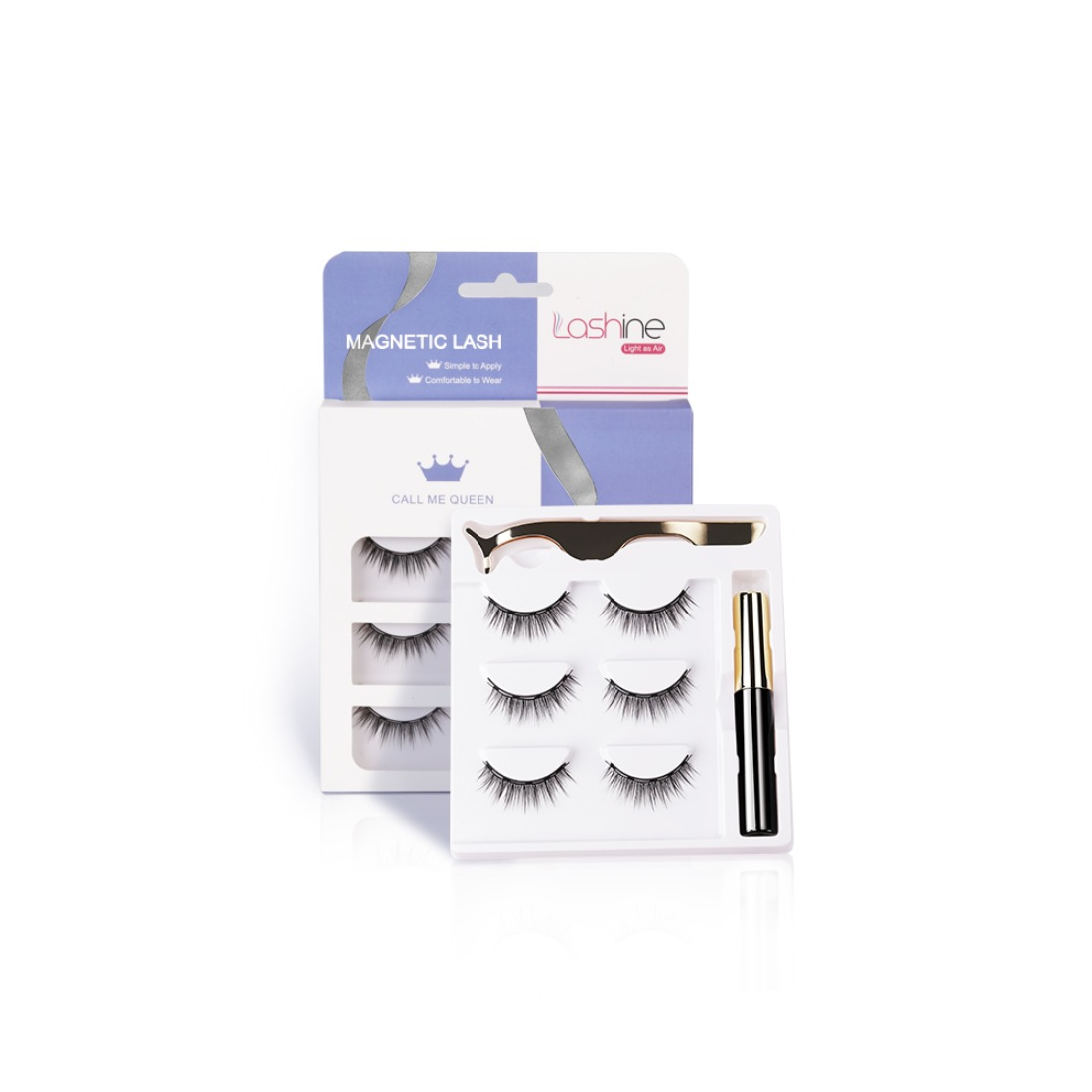 Different 3 pairs of Magnetic Lashes