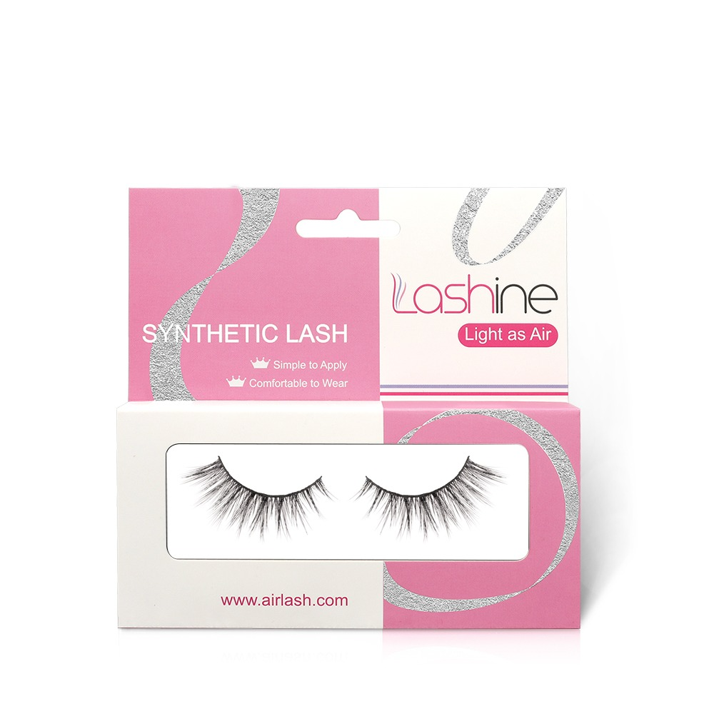 Nude Makeup Synthetic Eyelashes Kit S34