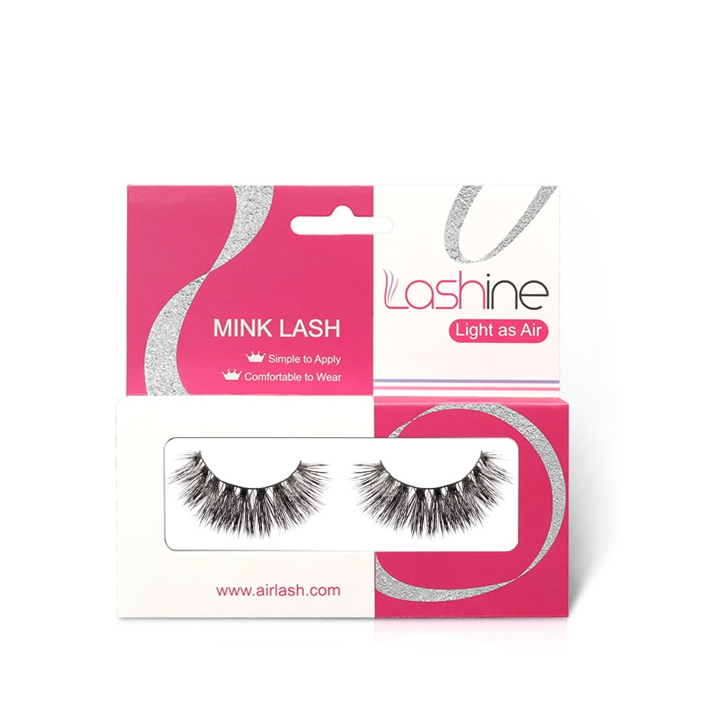 Curled Mink Lashes Kit MK09