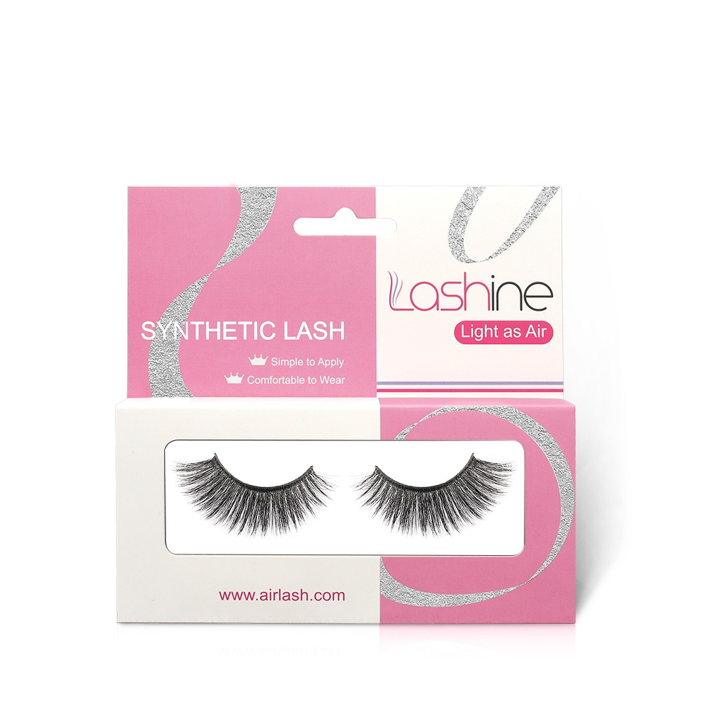 Deluxe 3D Synthetic Eyelashes Kit S19