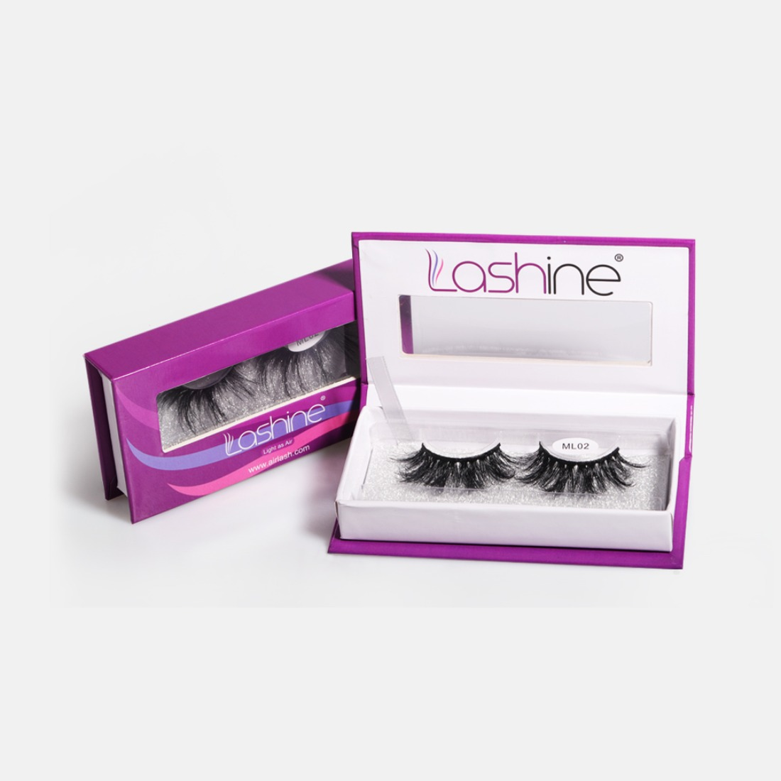 Doll Elegance 25mm Lashes Kit ML02