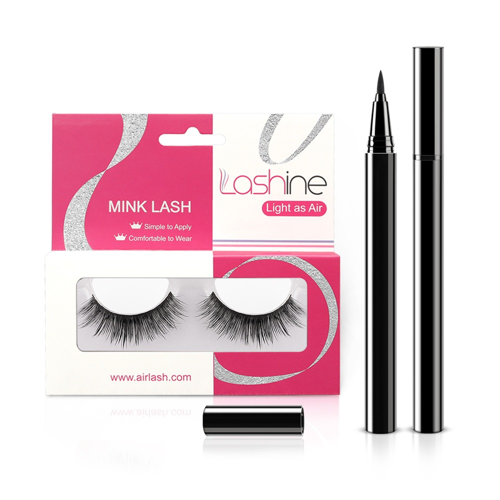 Thick Curl Mink Lashes Kit MK20