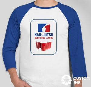 Bar-jutsu Beer Pong League Shirt