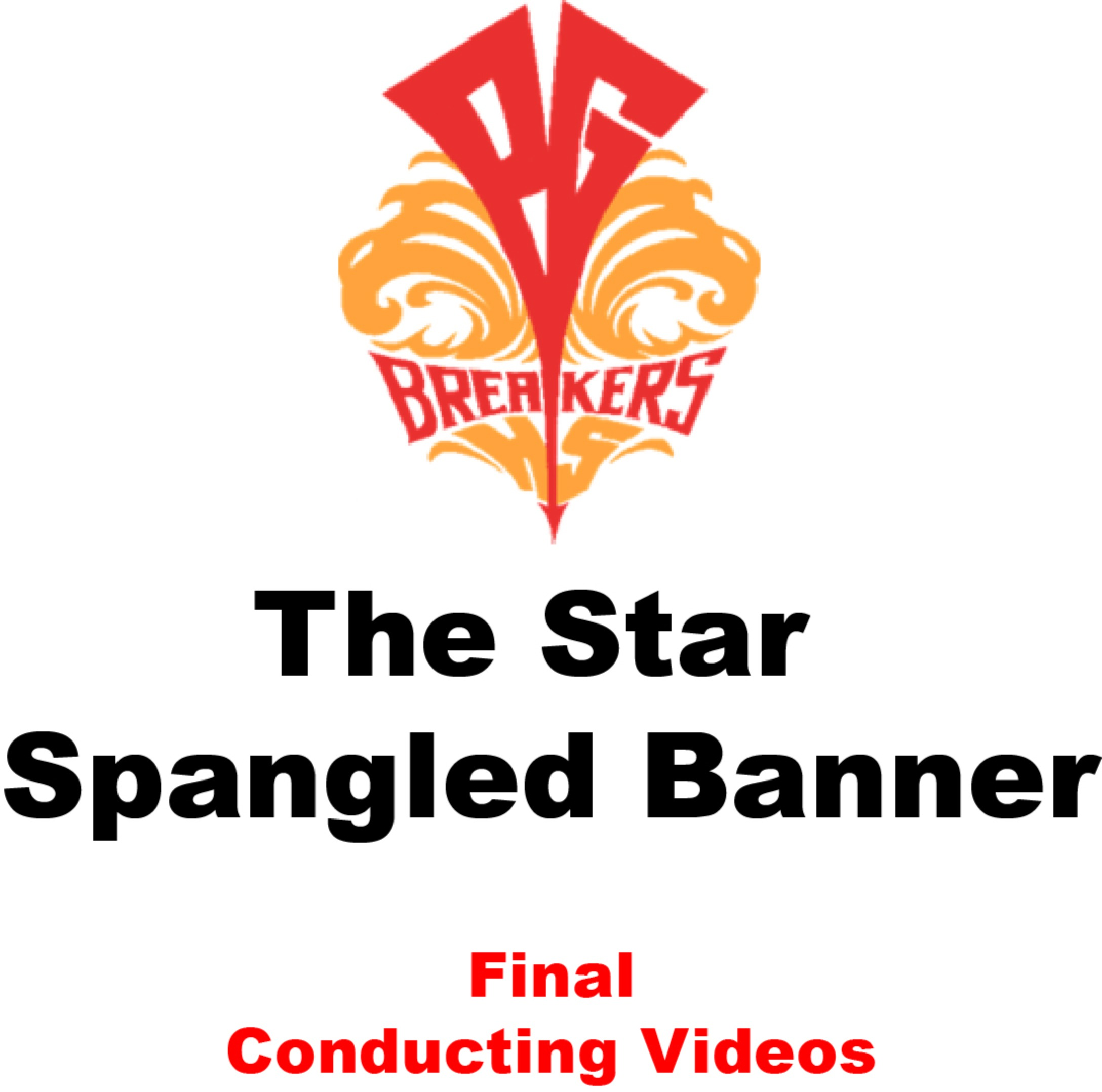 Star Spangled Banner - FINAL CONDUCTING VIDEO
