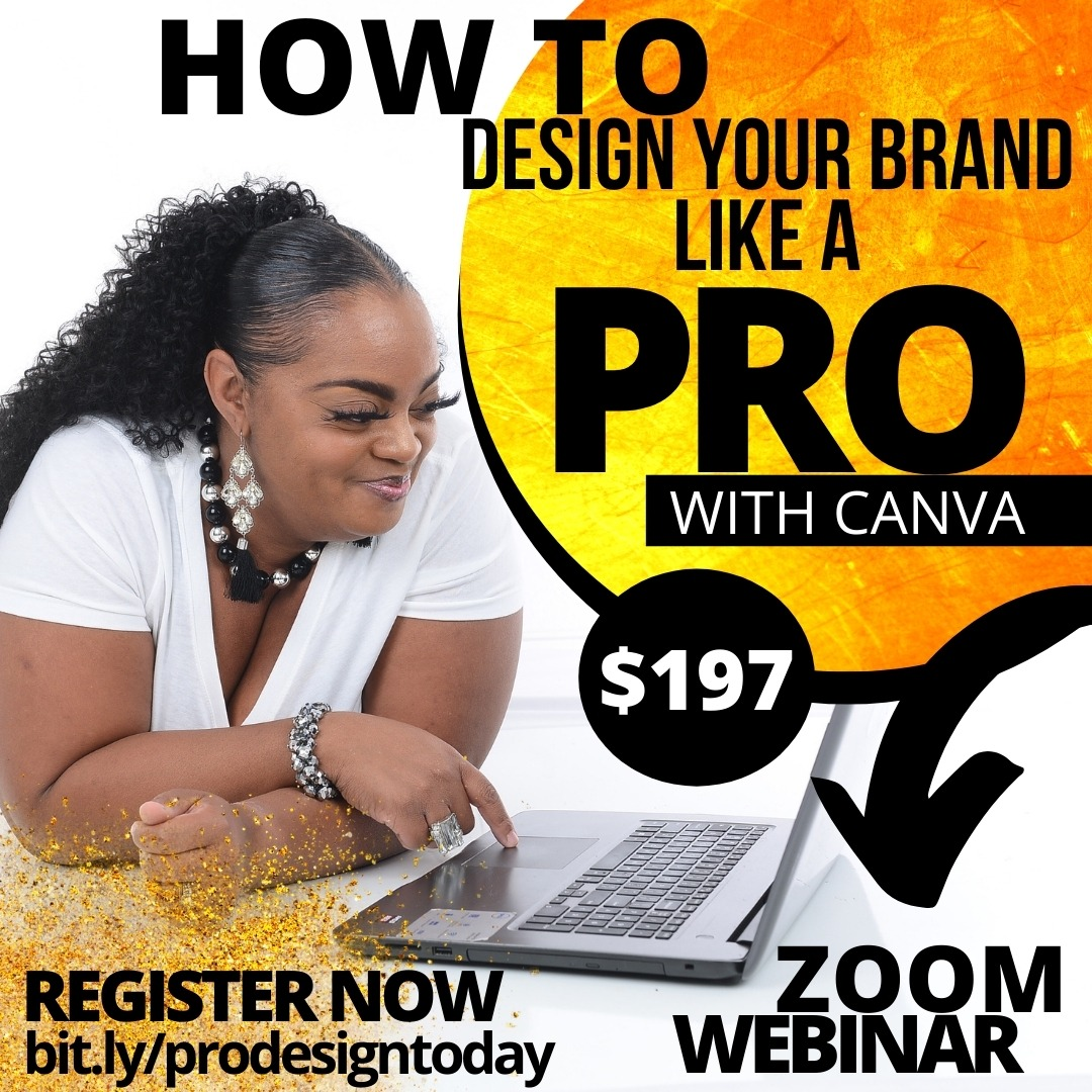 WEBINAR | DESIGN YOUR BRAND LIKE A PRO