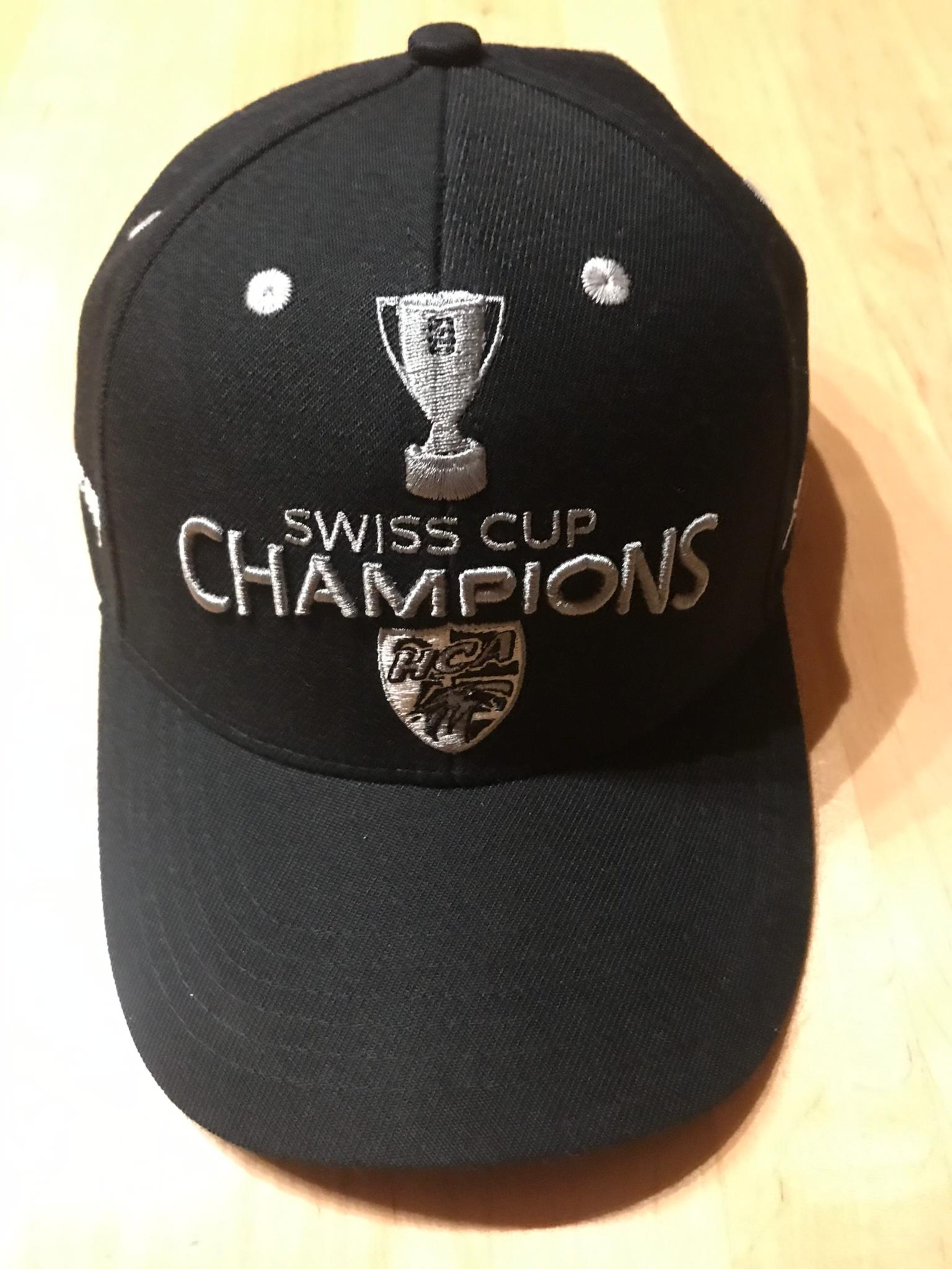 "Casquette ""Swiss Cup Champions"""