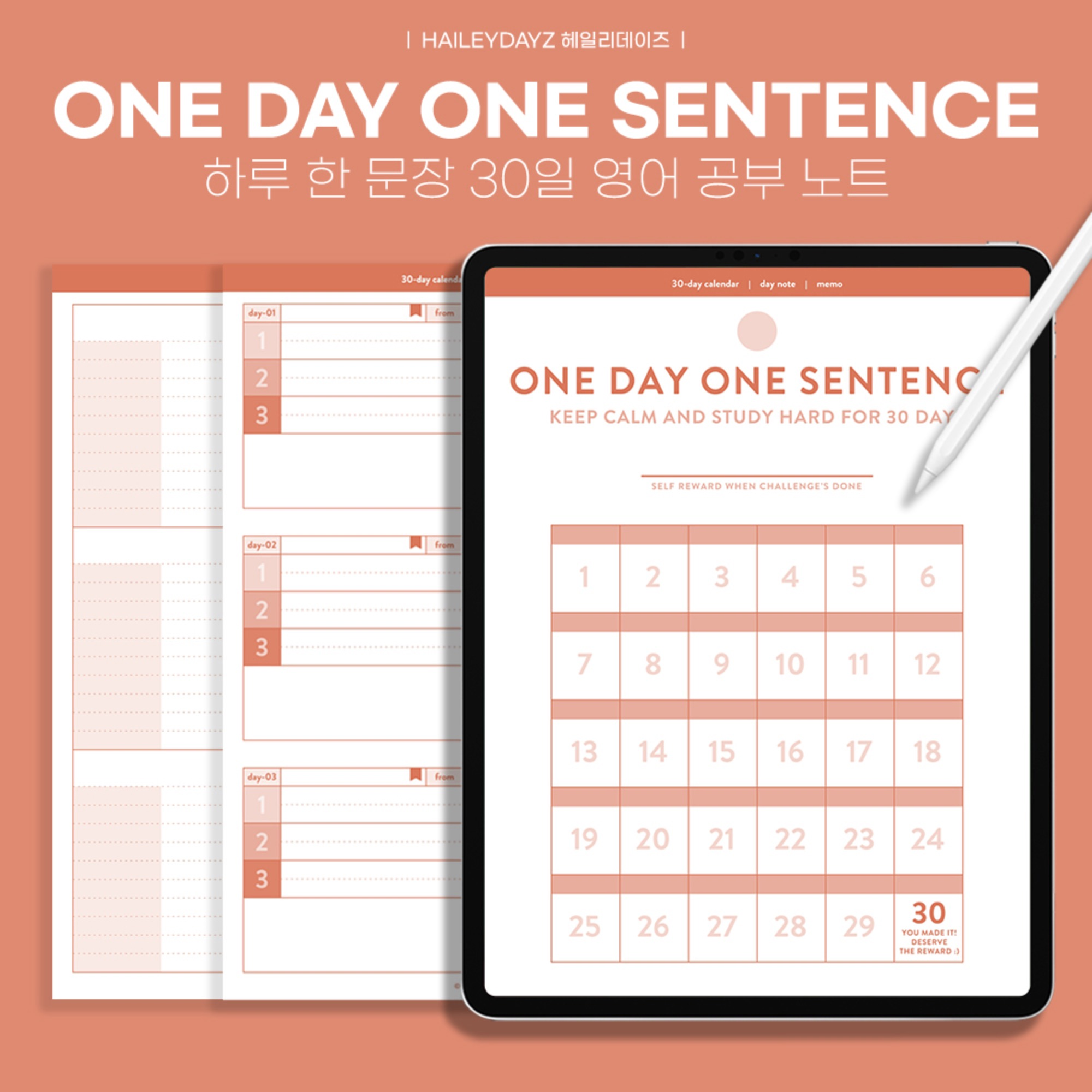 1 Day 1 Sentence note