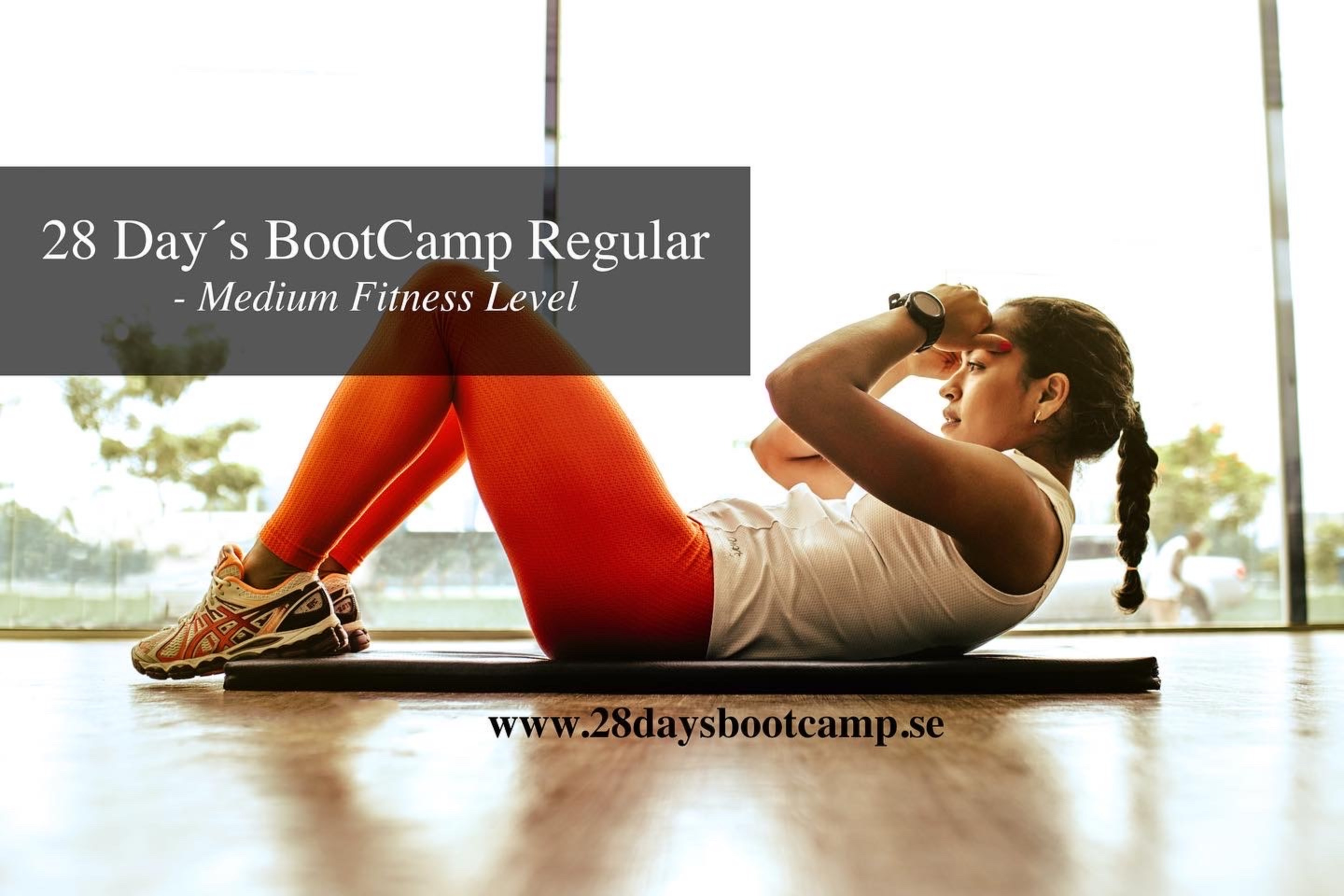 28 Day´s BootCamp Regular - Medium Fitness Level!